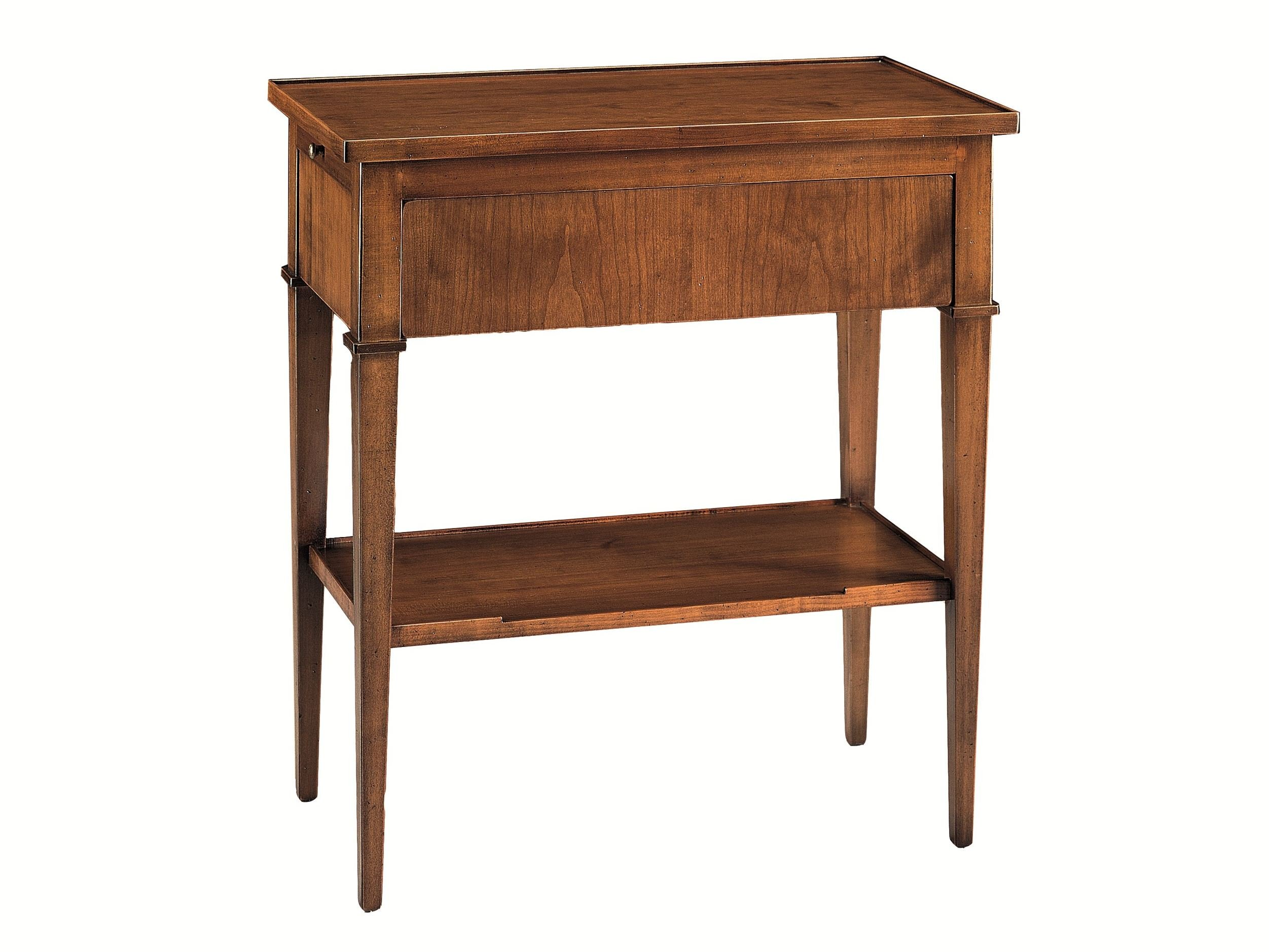 Marvelous photograph of Cherry wood console table with drawers BIEDERMEIER Console table  with #999932 color and 2503x1879 pixels