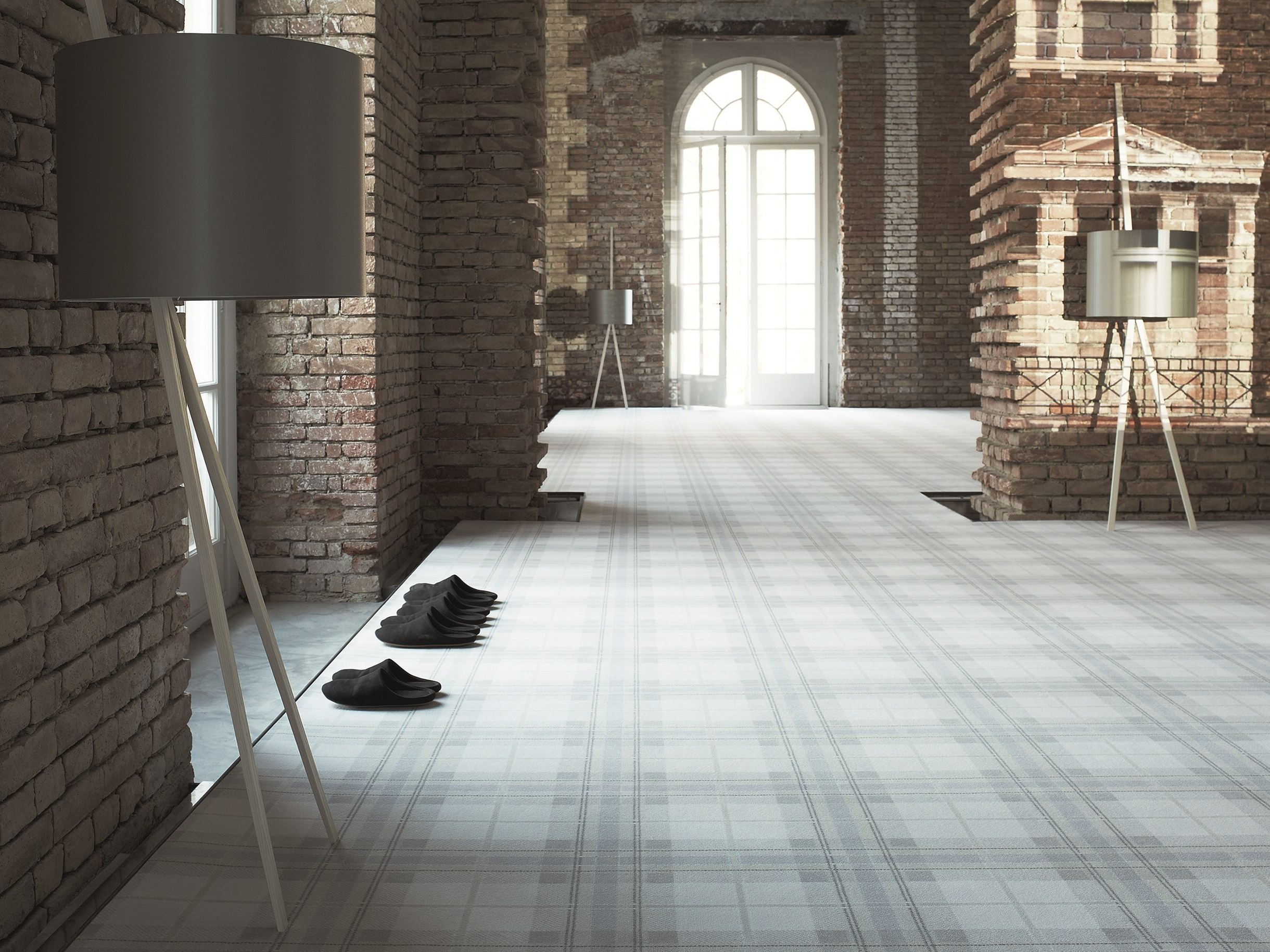Moquette carreaux suvretta 1100 by object carpet gmbh for Moquette geometrique