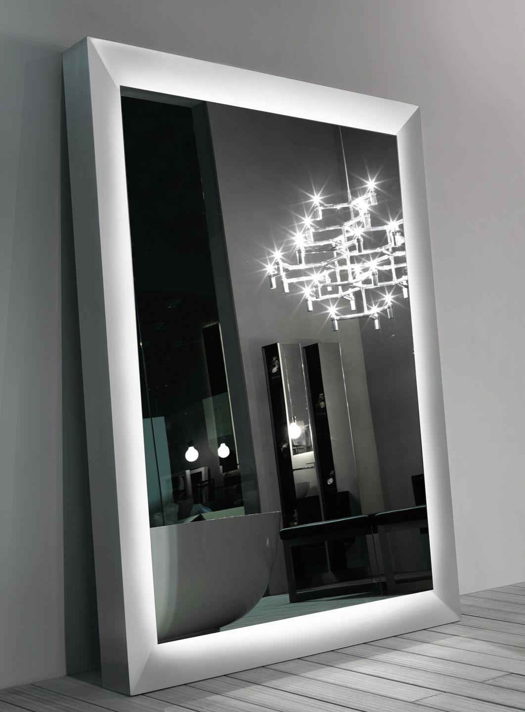 Specchio con cornice big one by rifra - Specchio con tv ...