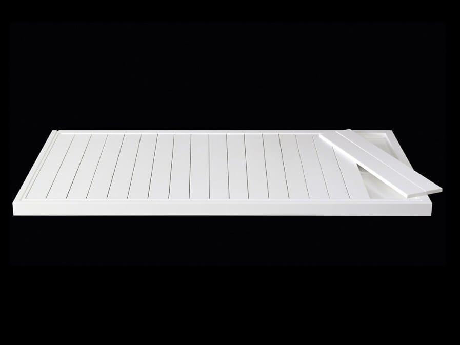 Line 60 corian shower tray by rifra - Plato ducha corian ...
