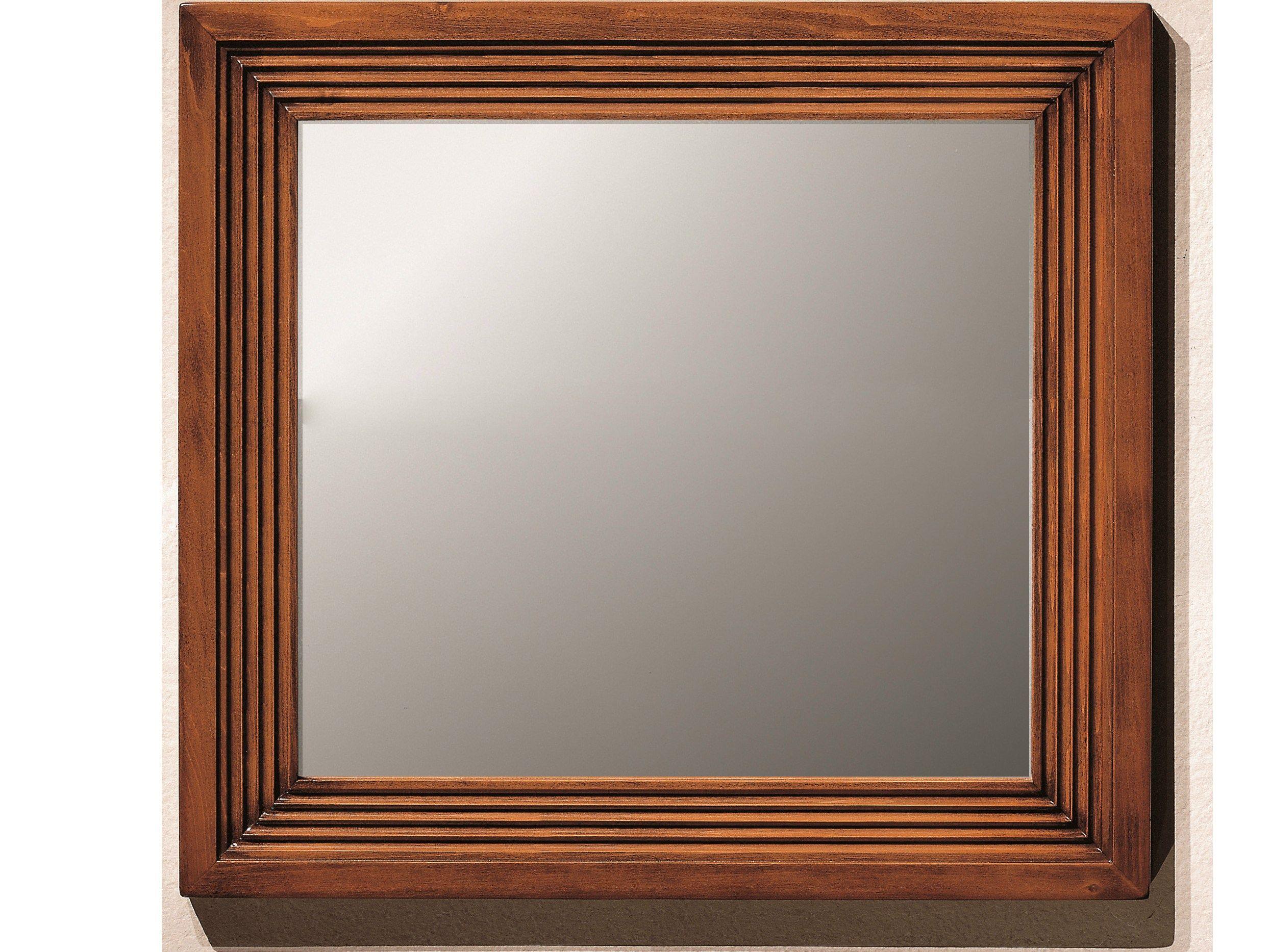 espejo cuadrado de pared con marco colecci n direttorio by