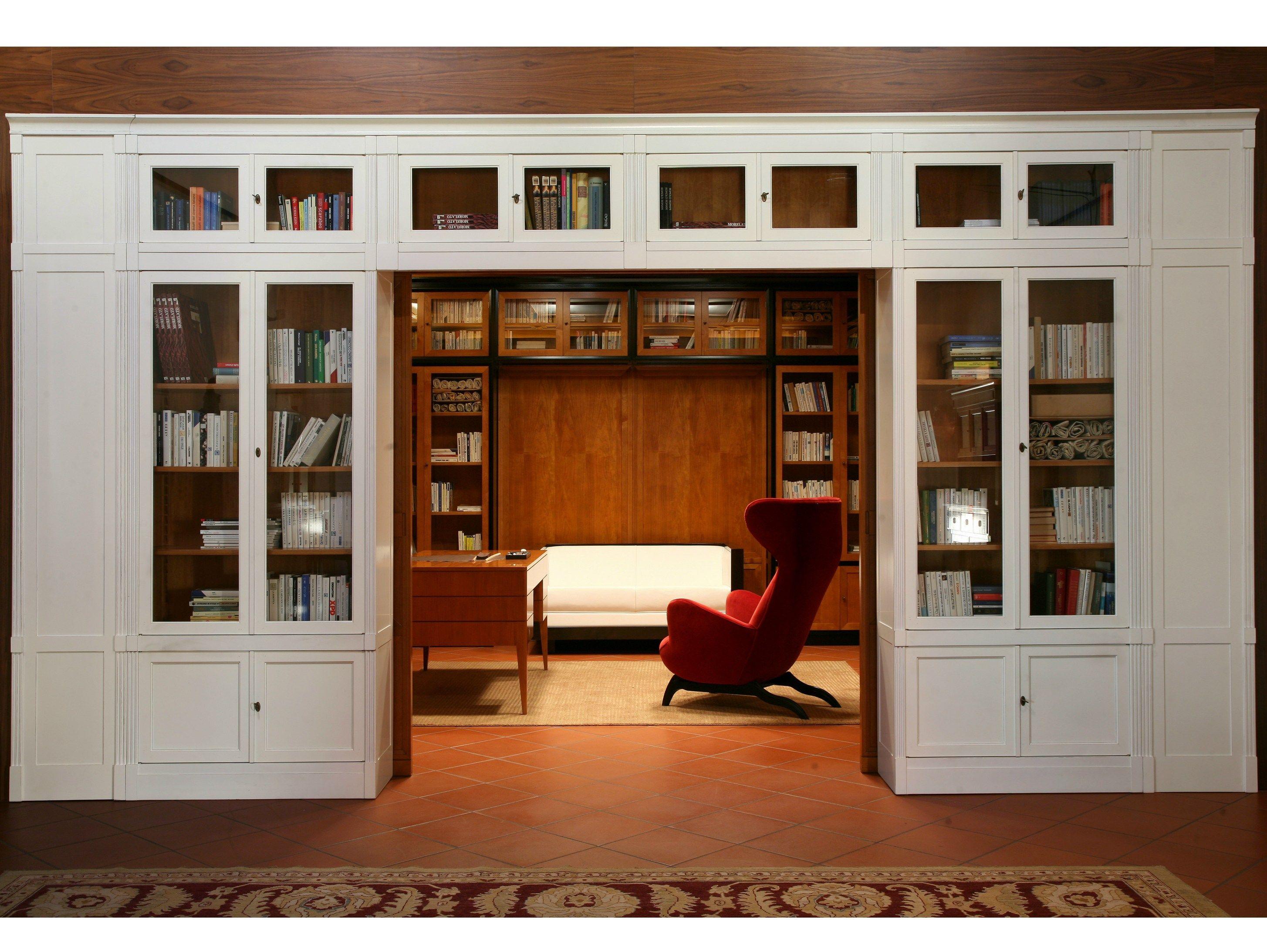 libreria a giorno in legno collezione direttorio by morelato