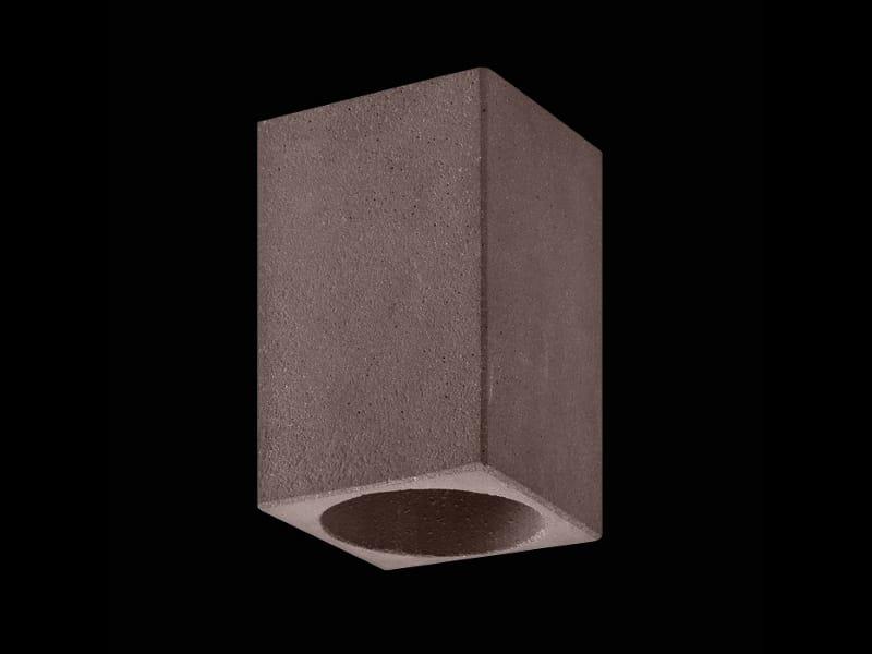 CEMENTO STYLE 120Q Lampada da soffitto by Lombardo design ...