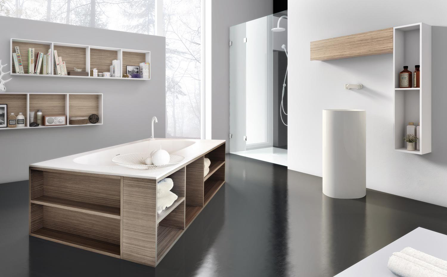 mariposa 50 baignoire by lasa idea design massimo casprini. Black Bedroom Furniture Sets. Home Design Ideas