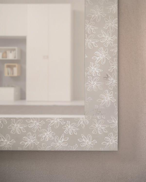 Miroir rectangulaire mural pour hall d 39 entr e holly by for Miroir mural rectangulaire design