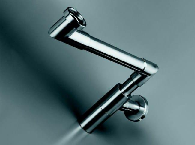Sif n para lavabo de acero inoxidable cocoon flo2 by - Sifones para lavabos ...