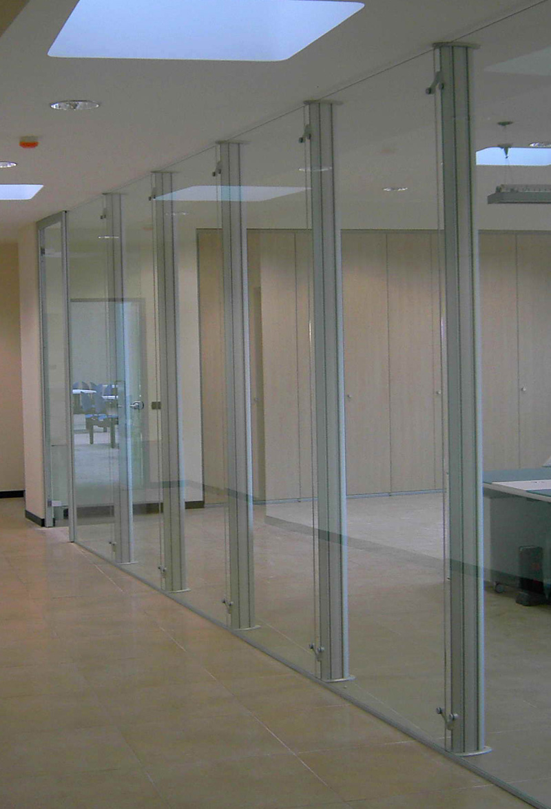 Accessories For Glass Partition Walls Mini Bases And