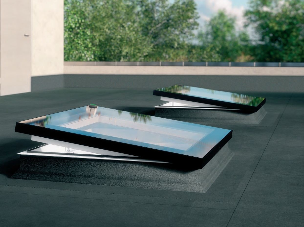 Pvc Roof Window Flat Roof Windows Type F By Fakro