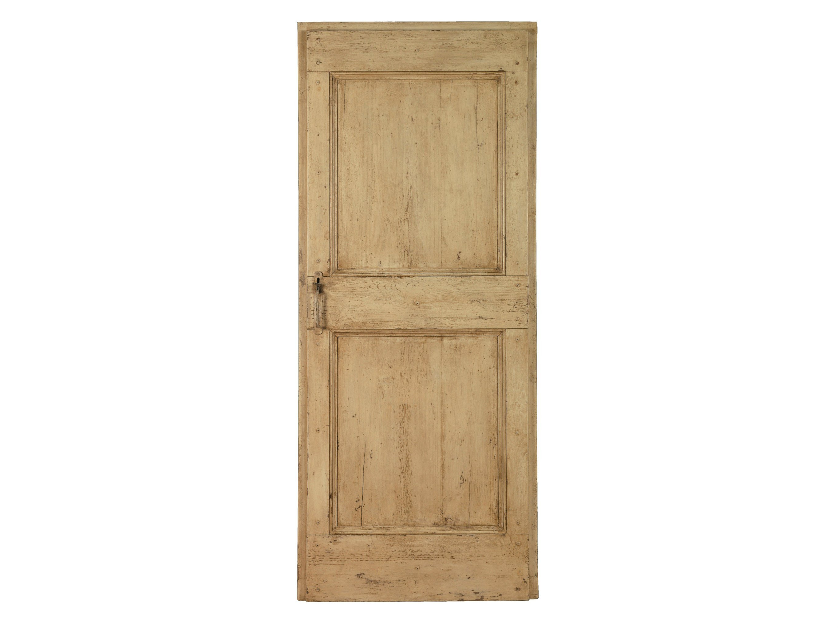 Wooden door old door 14 by bleu provence for Hardwood doors