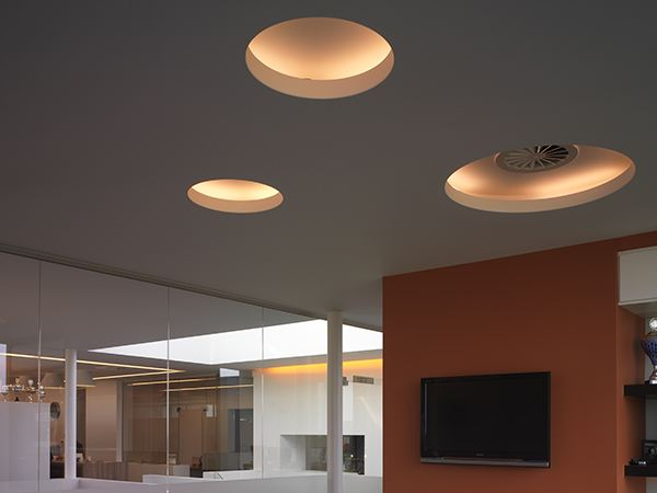 Built In Lights For Ceiling : Built in lamp ceiling uso cove lighting by flos