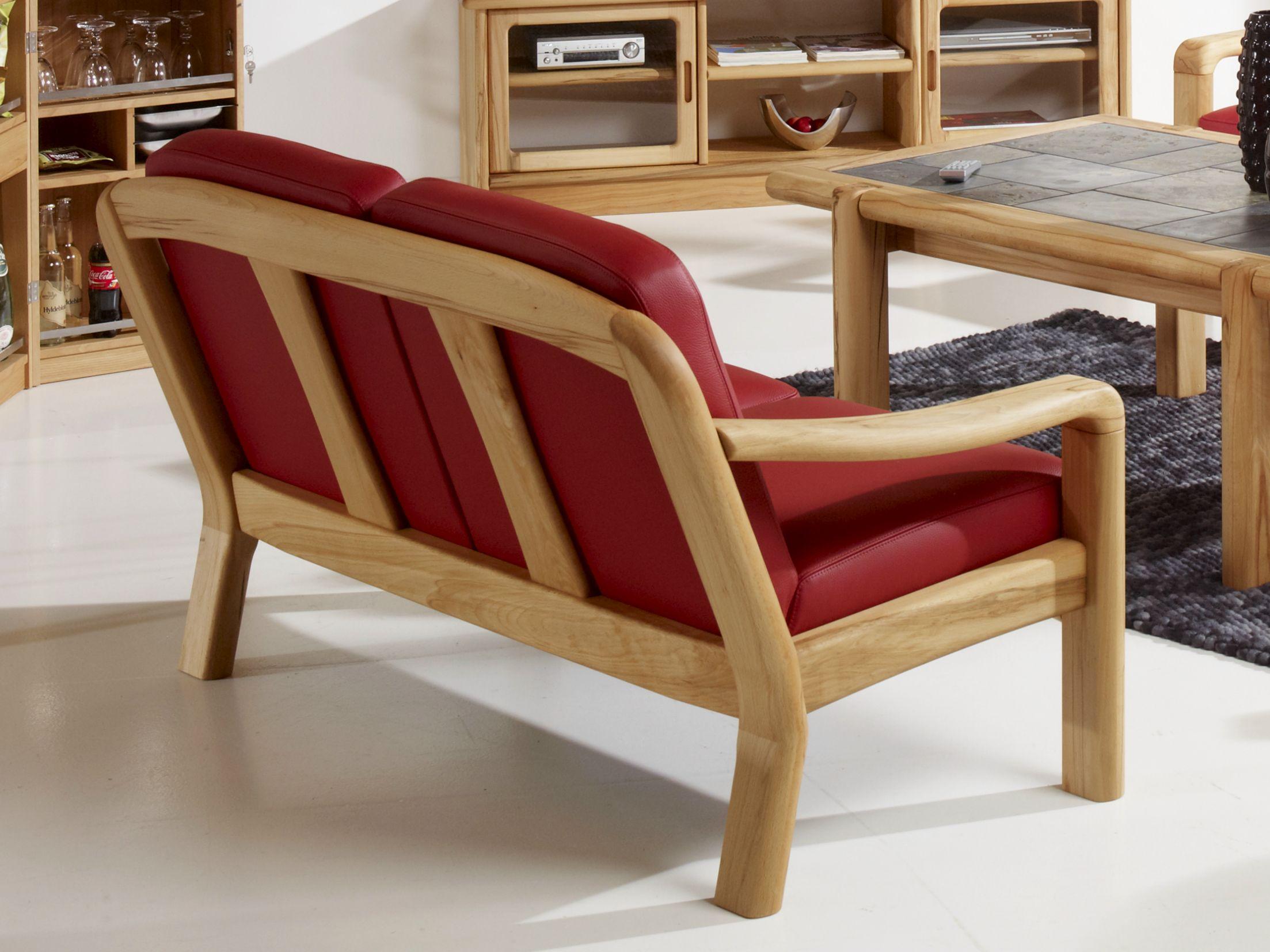 1240a 2 seater sofa by dyrlund - Sofas con madera ...