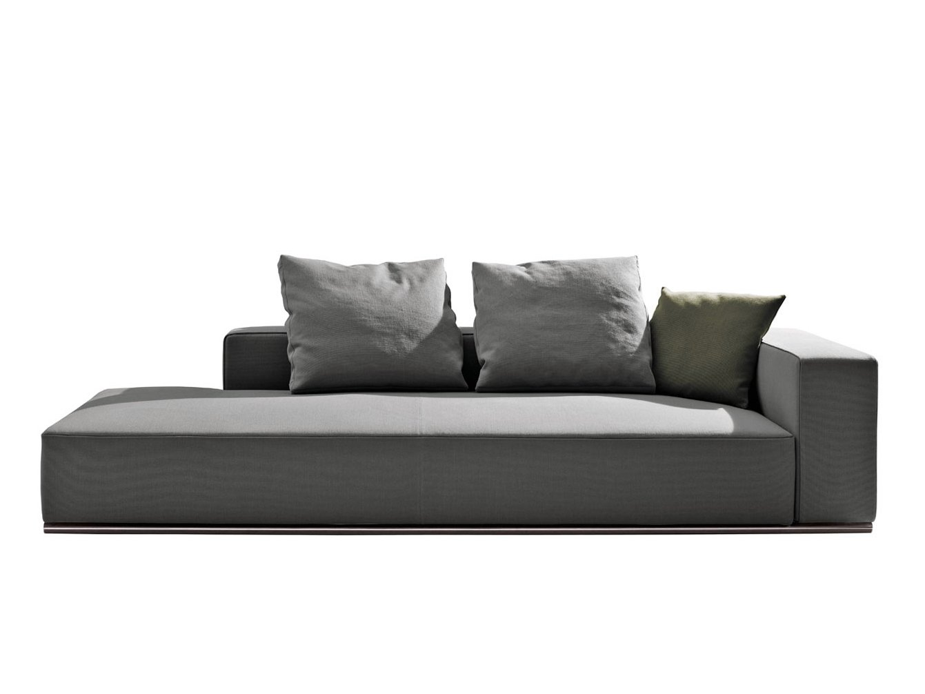 m ridienne rembourr e en tissu collection andy 39 13 by b b italia design paolo piva. Black Bedroom Furniture Sets. Home Design Ideas