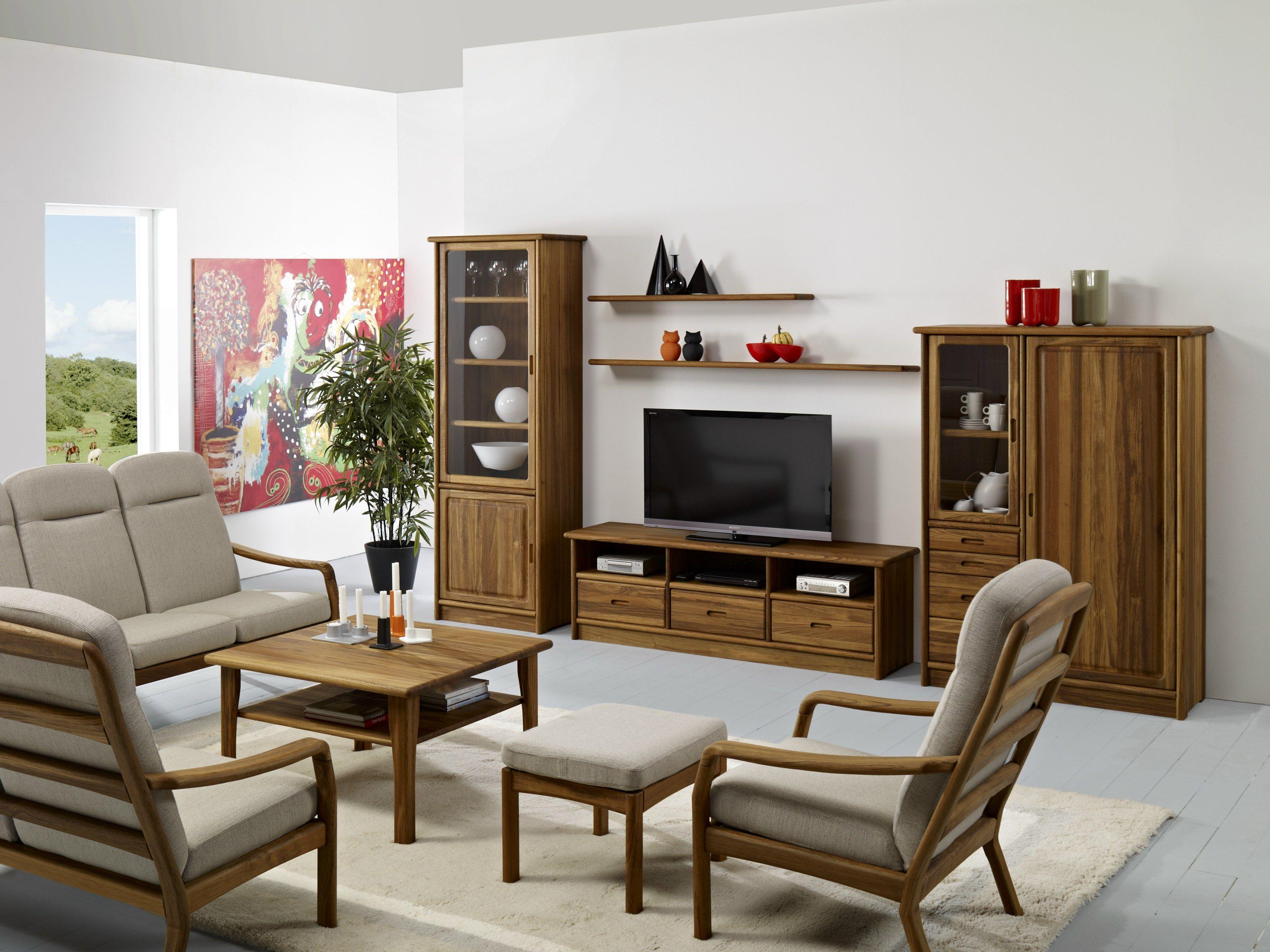 Tv3 3 meuble tv by dyrlund - Grand meuble de rangement salon ...