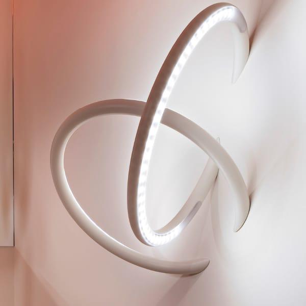 Lampe semi encastr e led wall piercing applique collection 3d by flos design ron gilad - Appliques flos ...