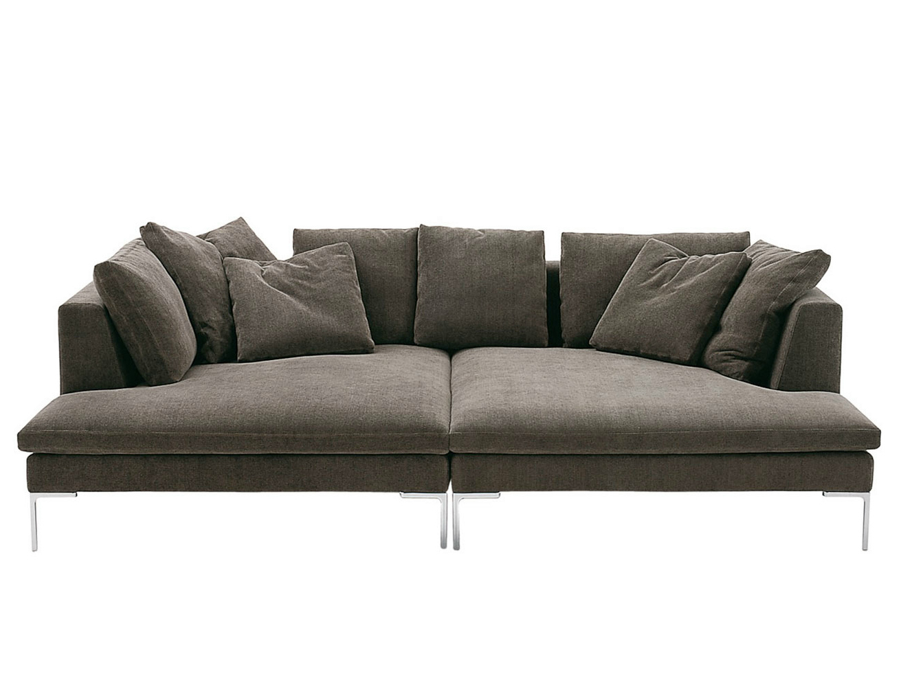 charles large sectional sofa by b b italia design antonio citterio. Black Bedroom Furniture Sets. Home Design Ideas