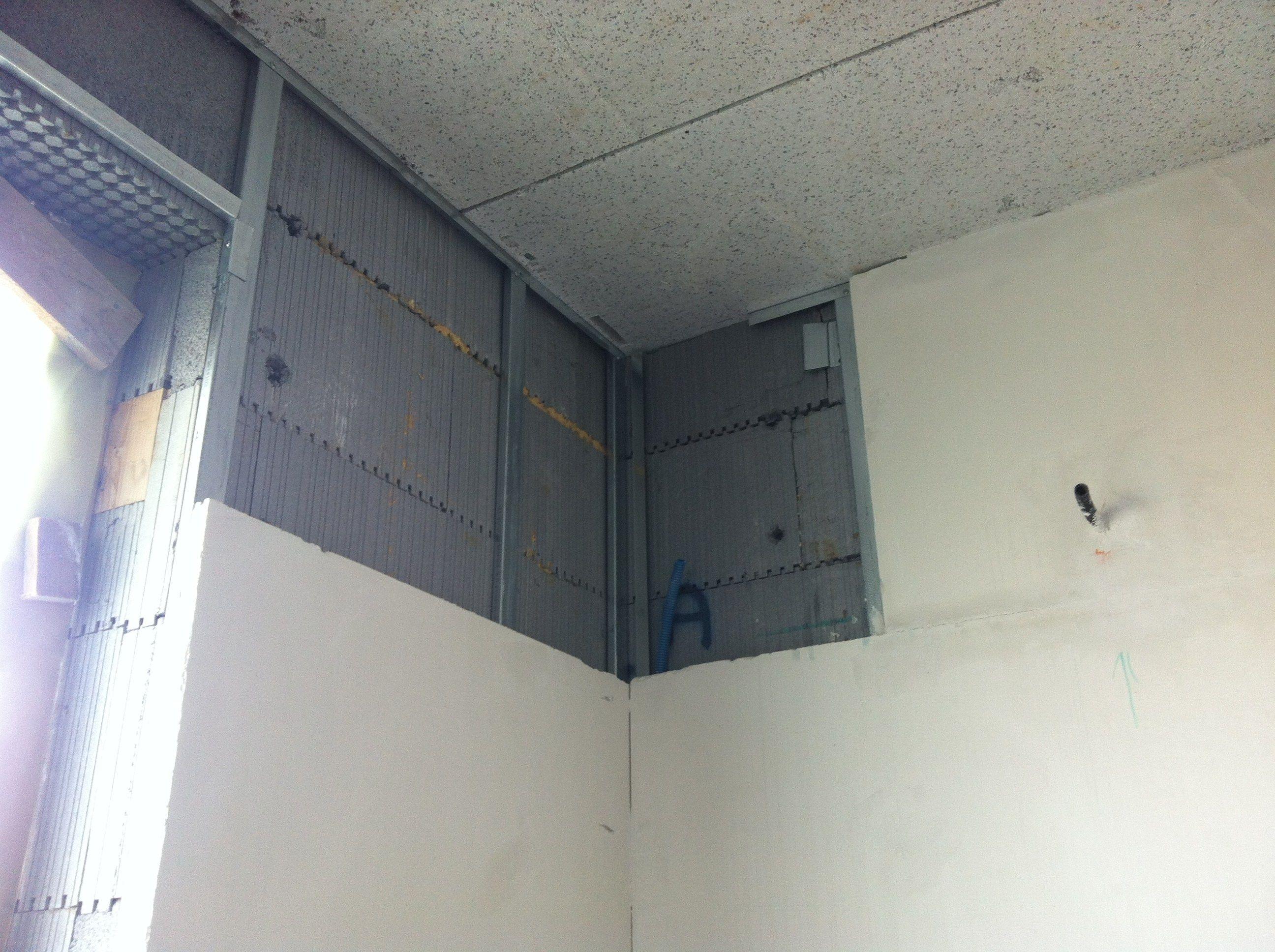 plaque de pl tre acoustique pour murs int rieurs pour l 39 isolation thermique biogips by bioisotherm. Black Bedroom Furniture Sets. Home Design Ideas