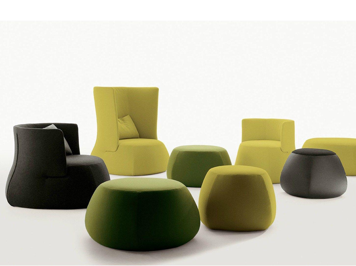 fat sofa pouf by b b italia design patricia urquiola. Black Bedroom Furniture Sets. Home Design Ideas