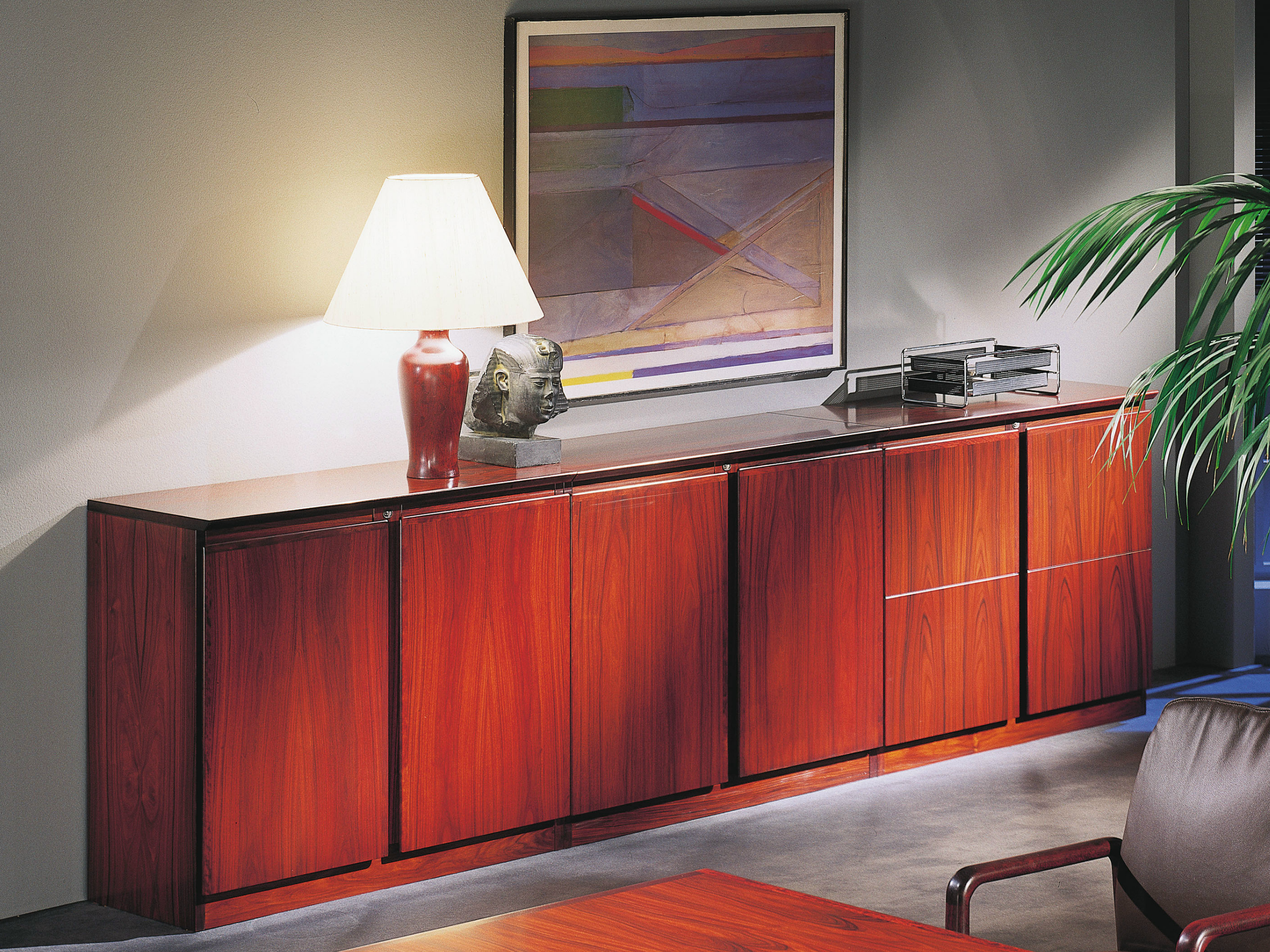 louça / armário de escritório de madeira APOLLO Armário de  #A54526 2636x1977