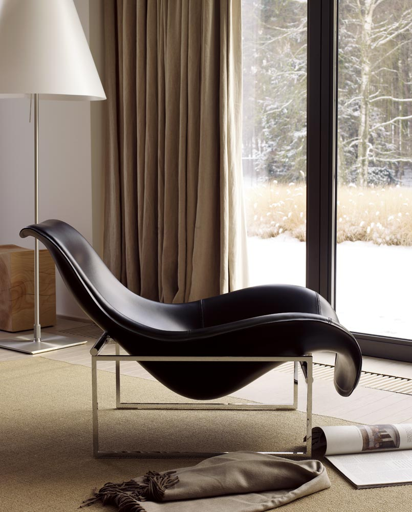 mart leather armchair by b b italia design antonio citterio. Black Bedroom Furniture Sets. Home Design Ideas