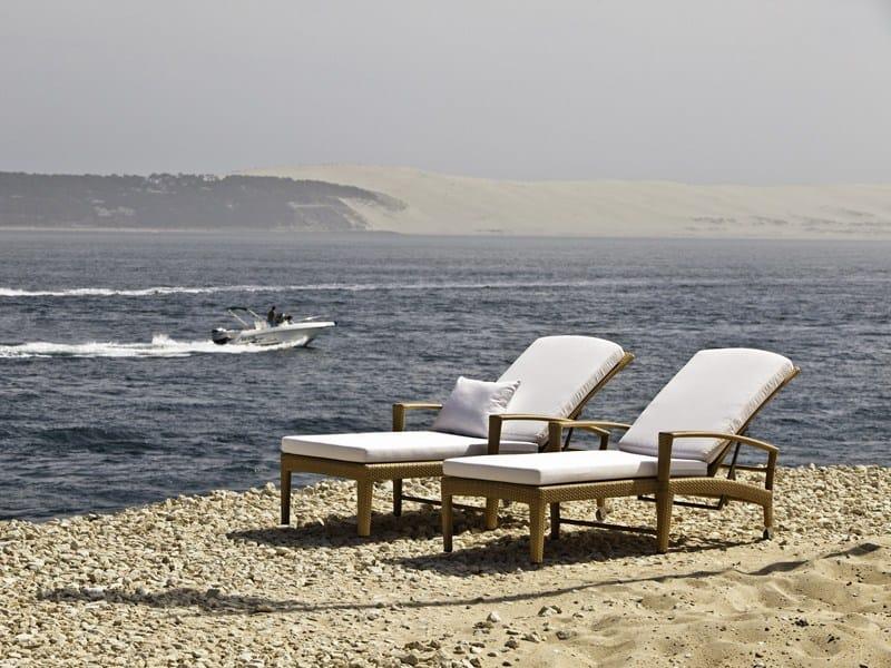 Panama gartenliege by dedon design richard frinier - Gartenliege design ...