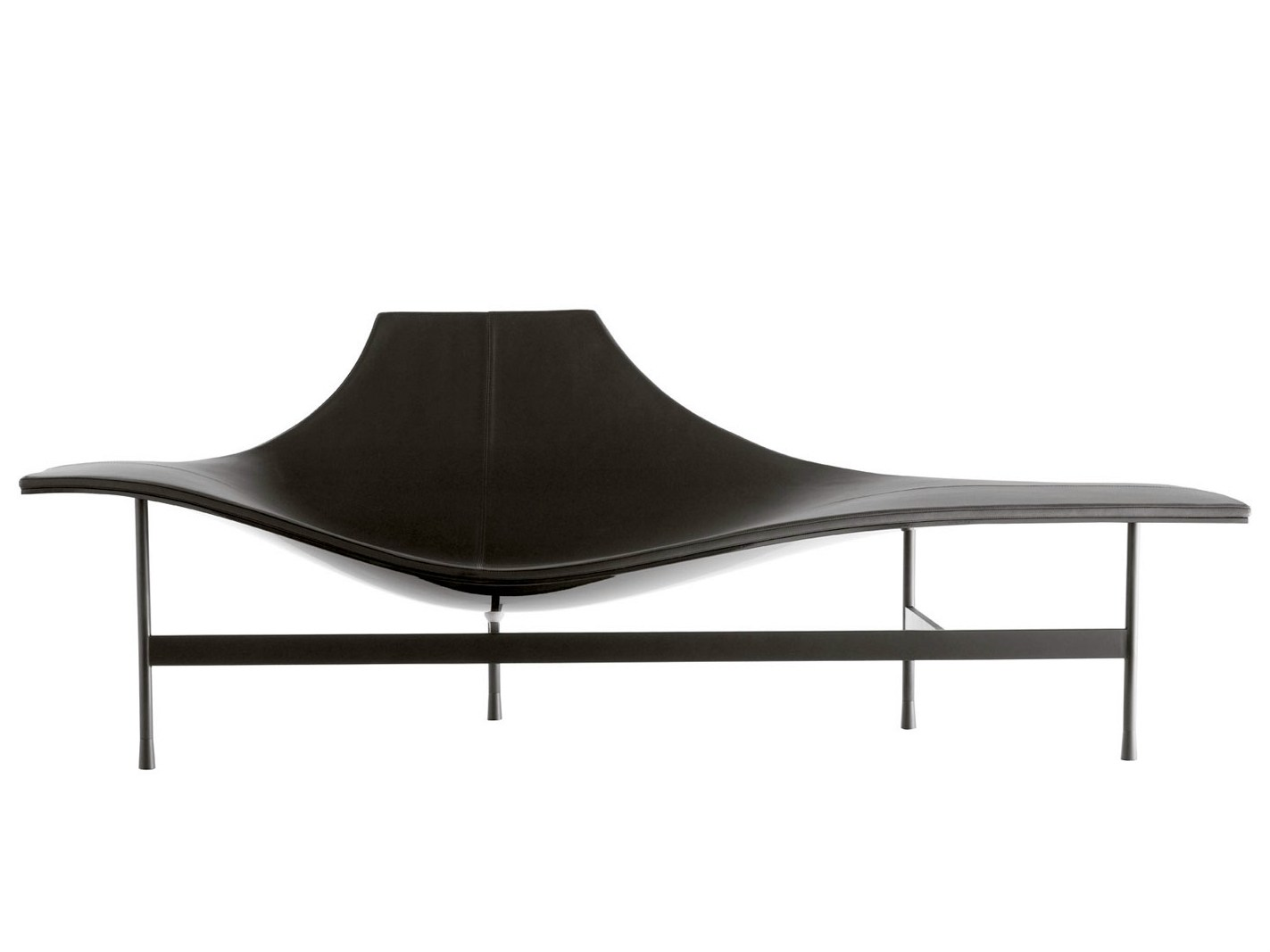 Leather Lounge Chair Terminal 1 By B Amp B Italia Design Jean
