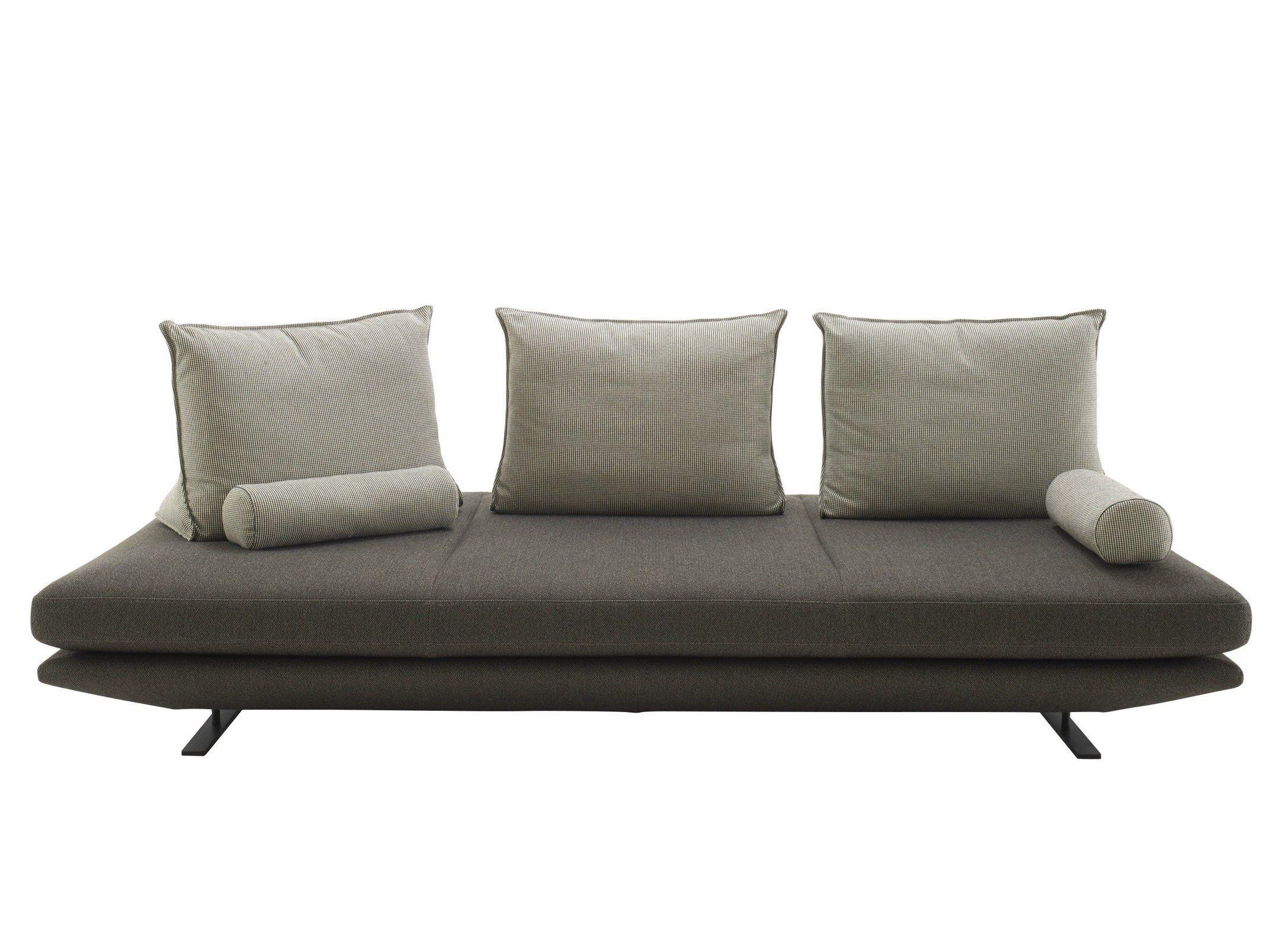 Gepolsterte Sitzbank aus Stoff PRADO by ROSET ITALIA Design ...