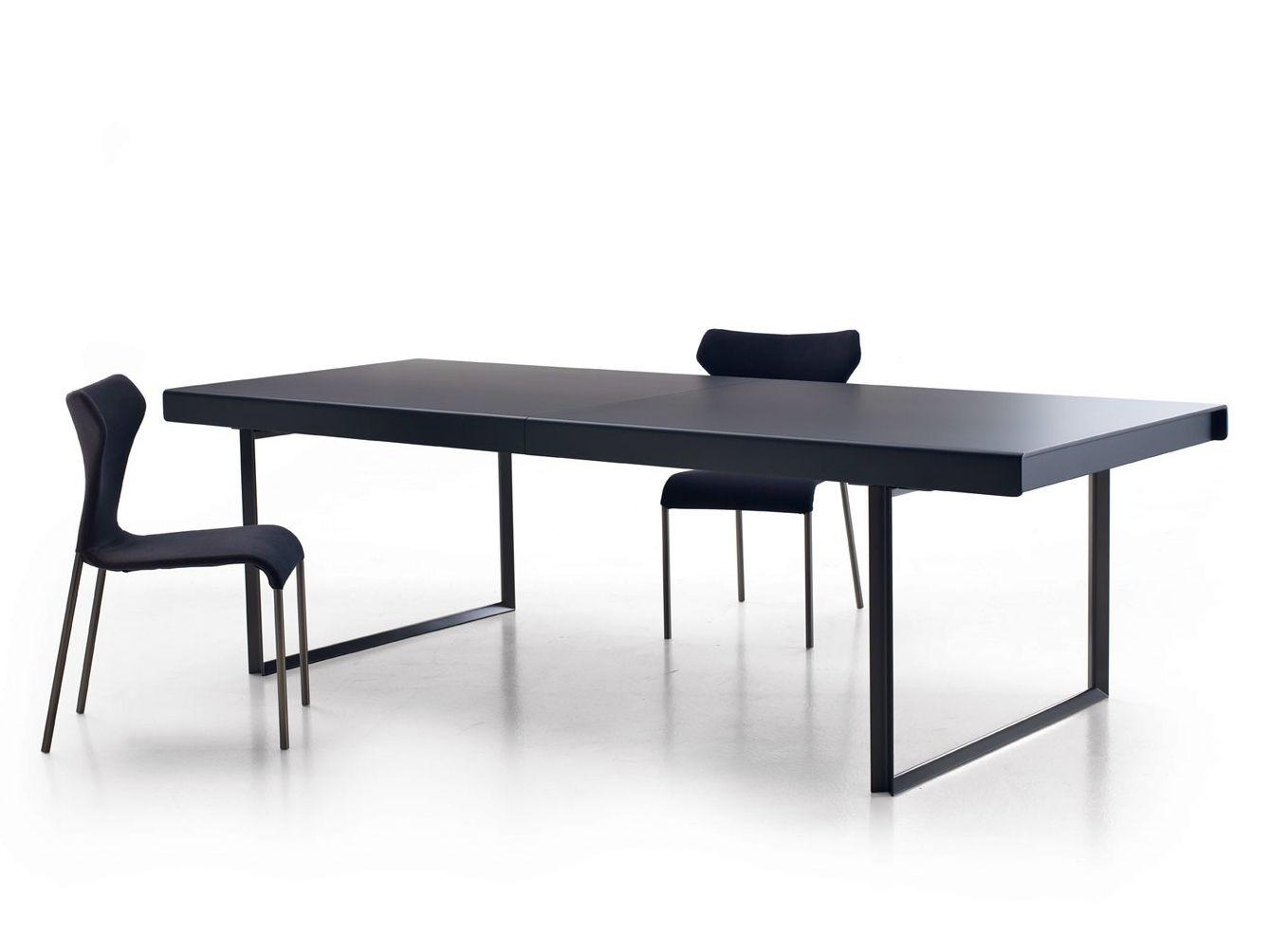 extending rectangular table athos 2012 by b b italia. Black Bedroom Furniture Sets. Home Design Ideas