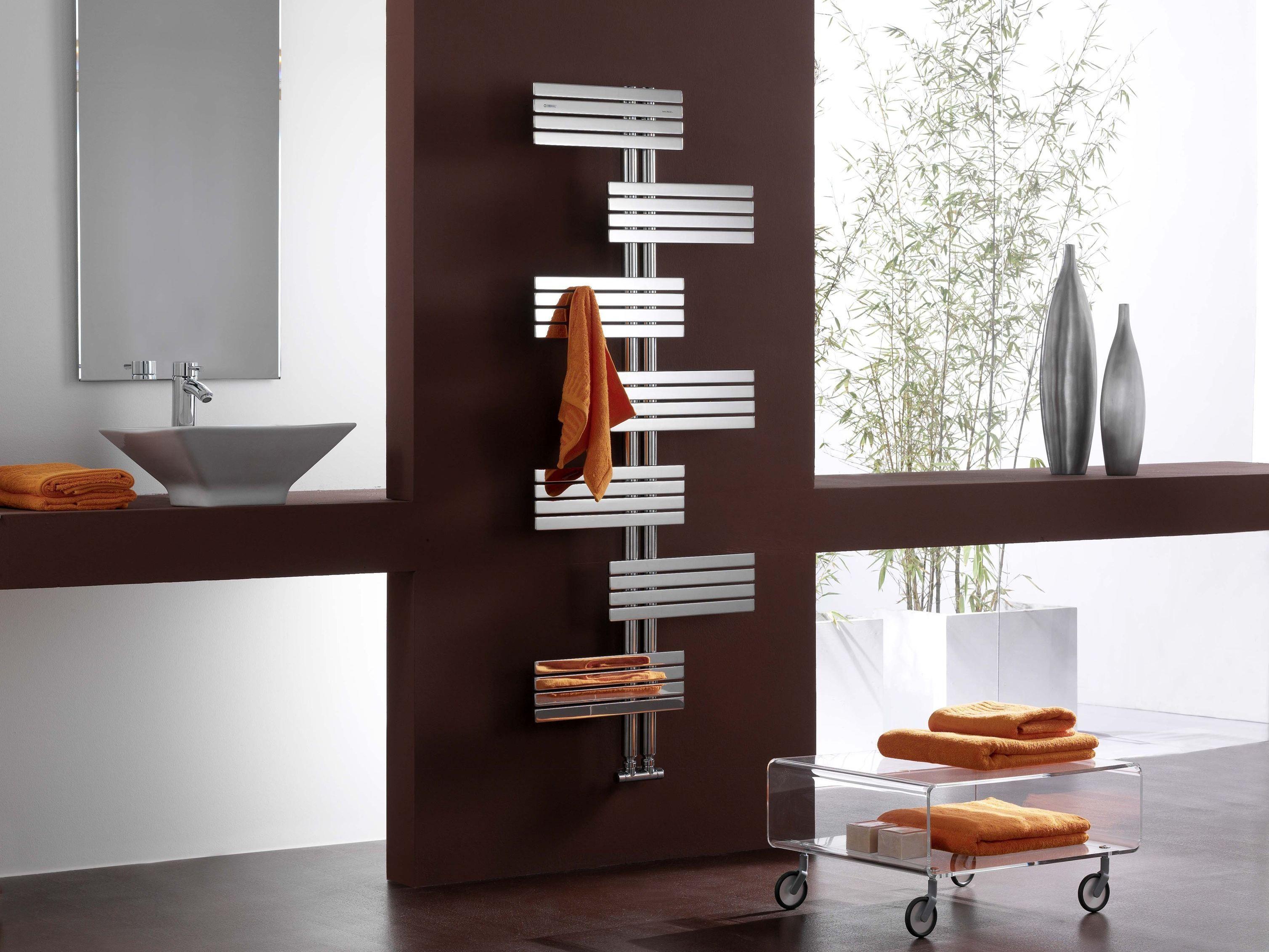 Babyla radiatore in acciaio lucido by cordivari design for Termosifoni d arredo roma