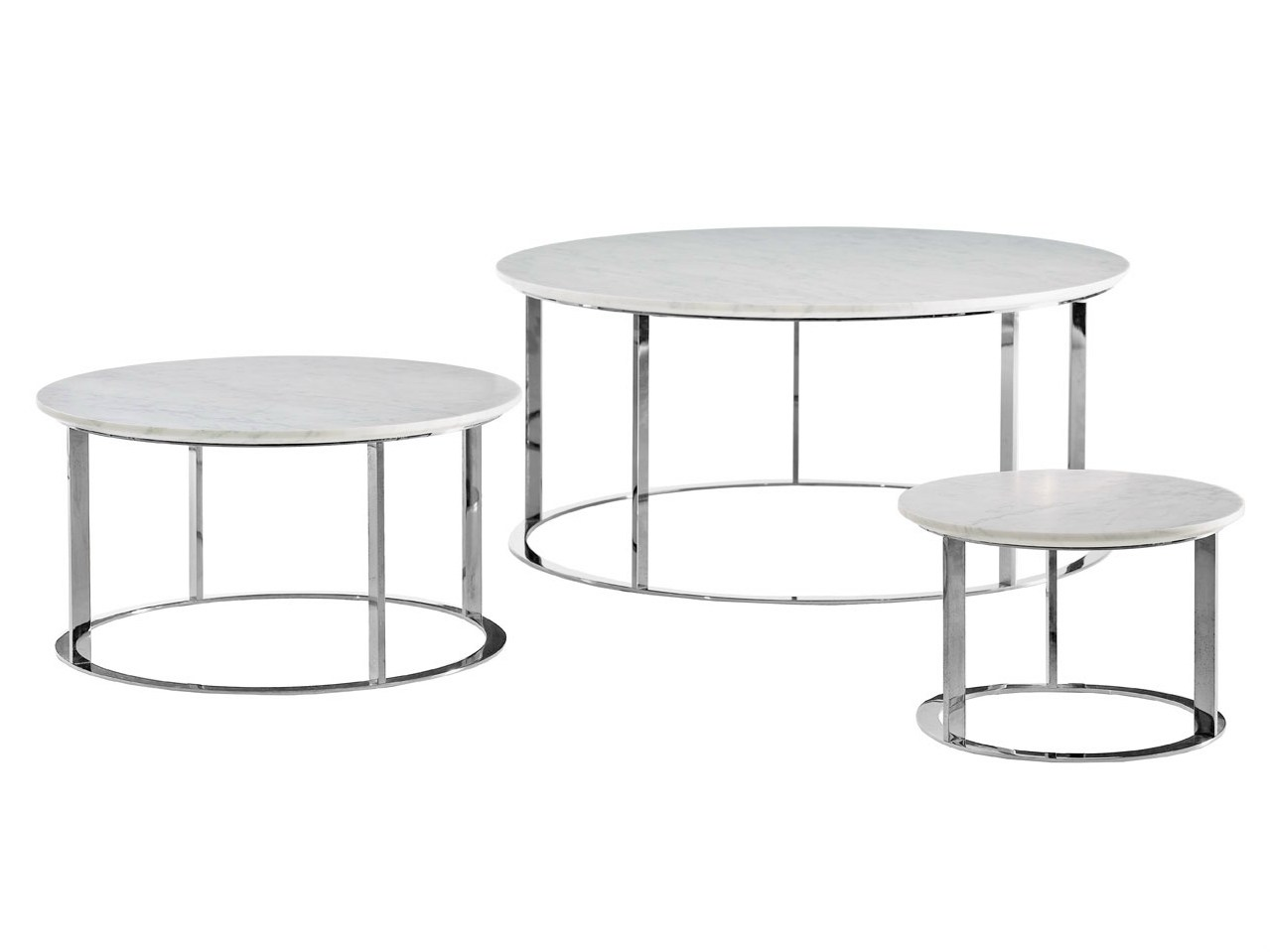 Round Marble Coffee Table Mera Mera Collection By B B Italia Design Antonio Citterio
