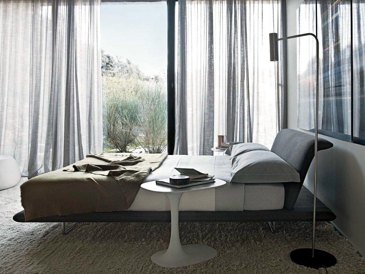 cama doble de tela con cabecera tapizada siena colecci n. Black Bedroom Furniture Sets. Home Design Ideas