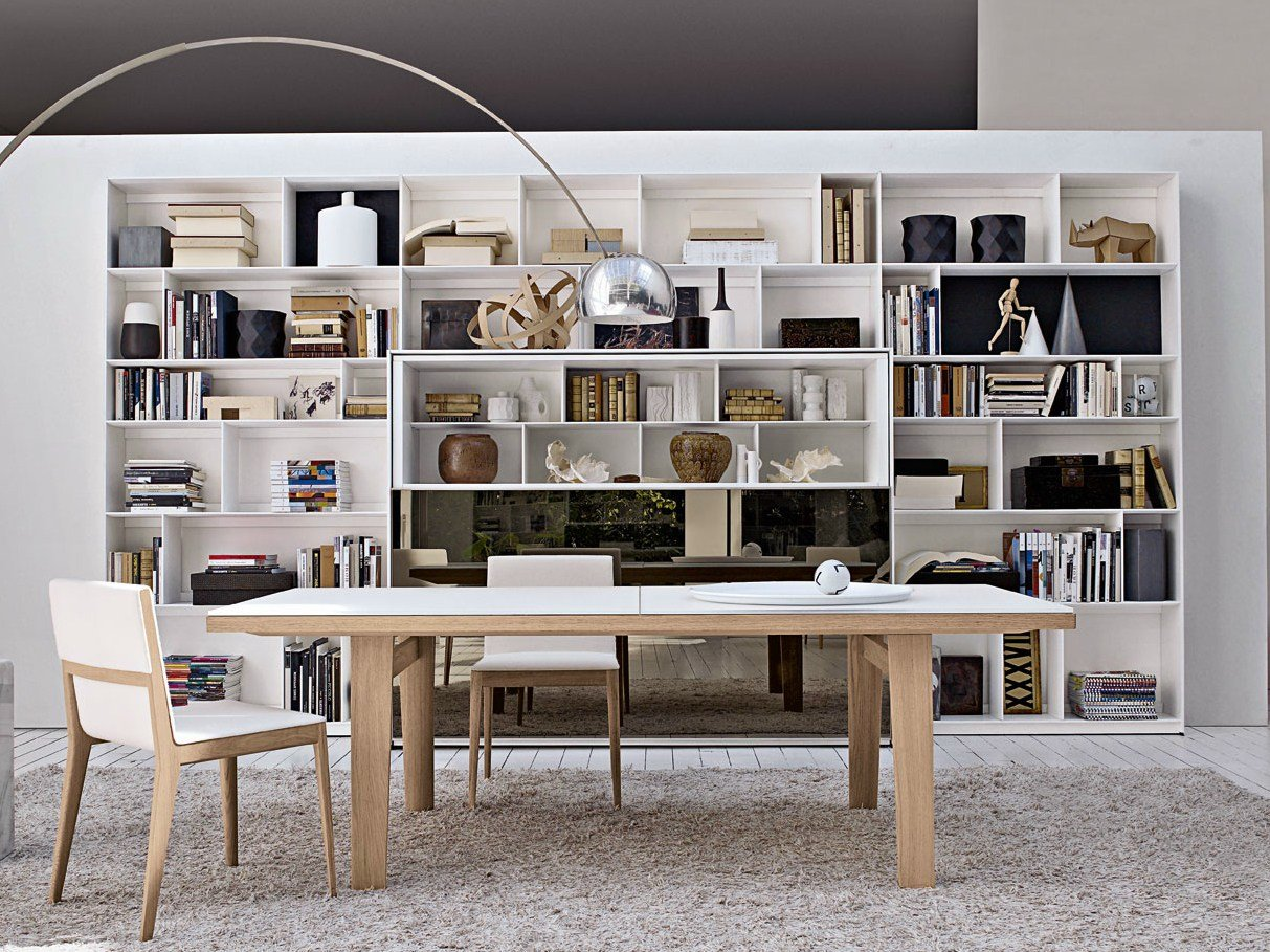 biblioth que ouverte composable flat c by b b italia