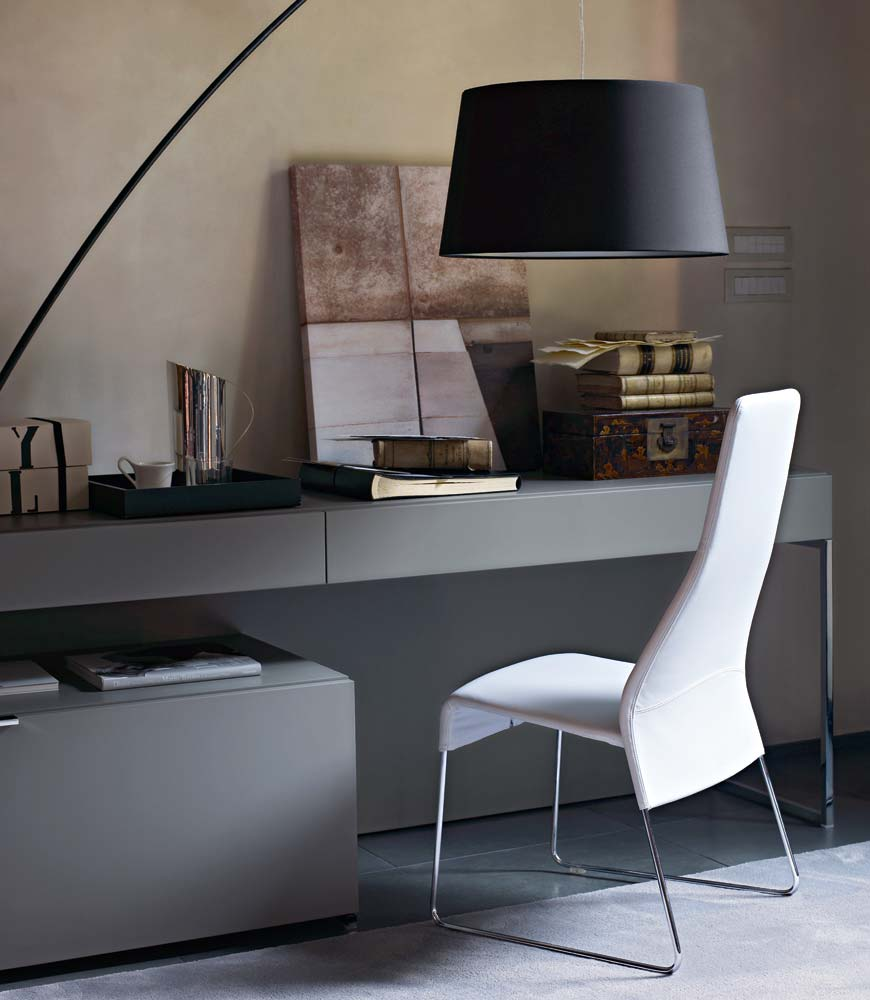 athos mueble modular de pared by b b italia dise o paolo piva. Black Bedroom Furniture Sets. Home Design Ideas