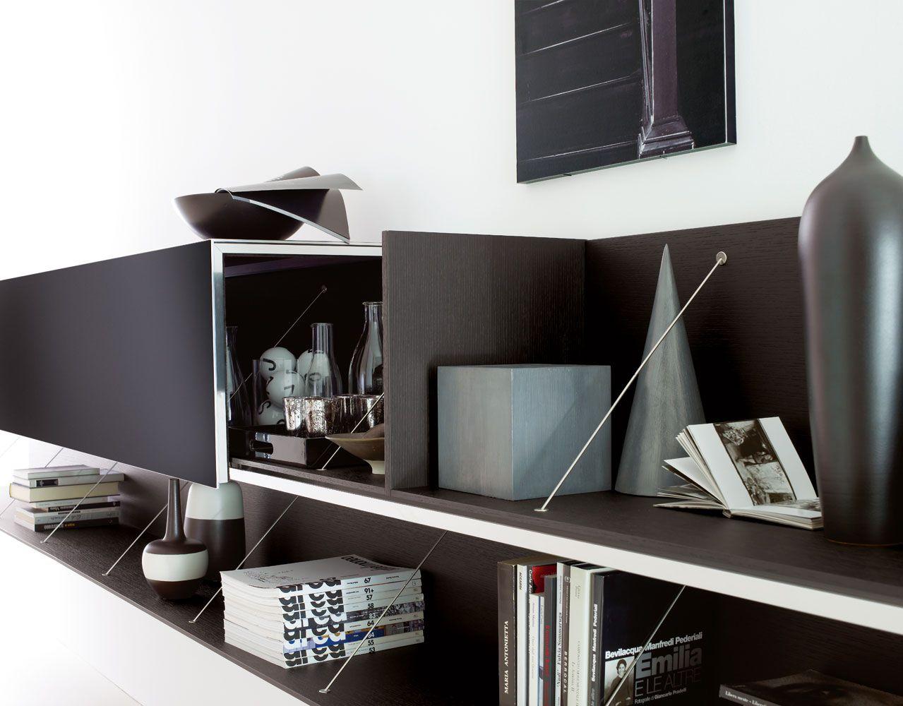pab mueble modular de pared by b b italia dise o studio kairos