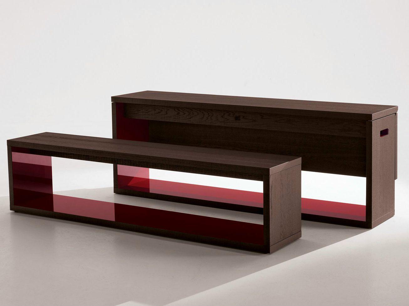 Consolle allungabile in legno massello FRANK  Consolle - B&B Italia
