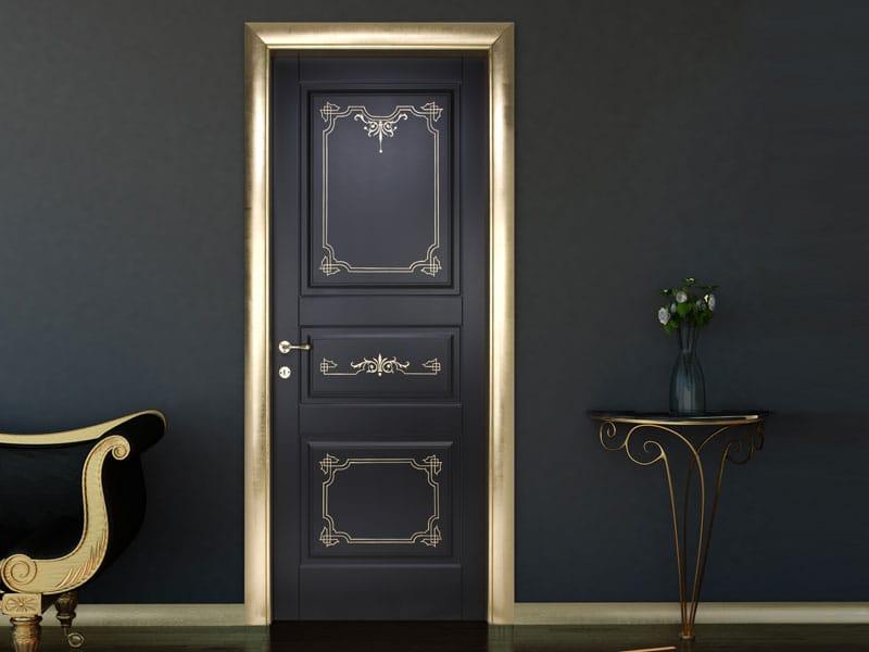 Porta a battente in legno l3p pantografata iris by for Porte bertolotto