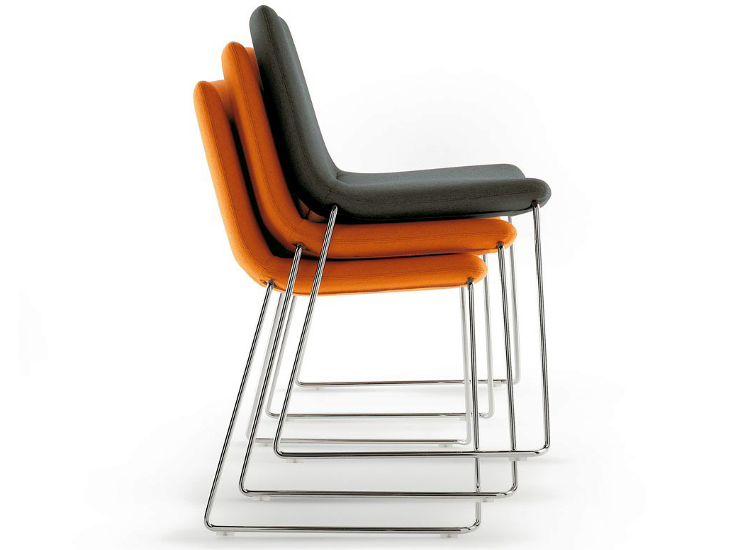 Cosmos Stackable Chair By B Amp B Italia Project A Brand Of B