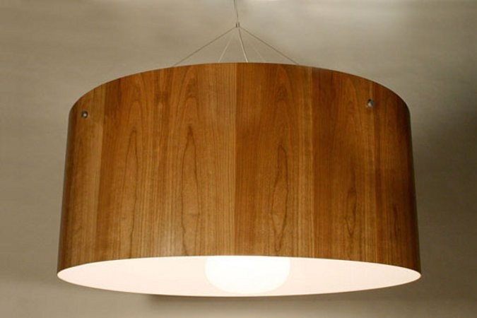 Wood Veneer Pendant Lamp Motherlamp By Lampa