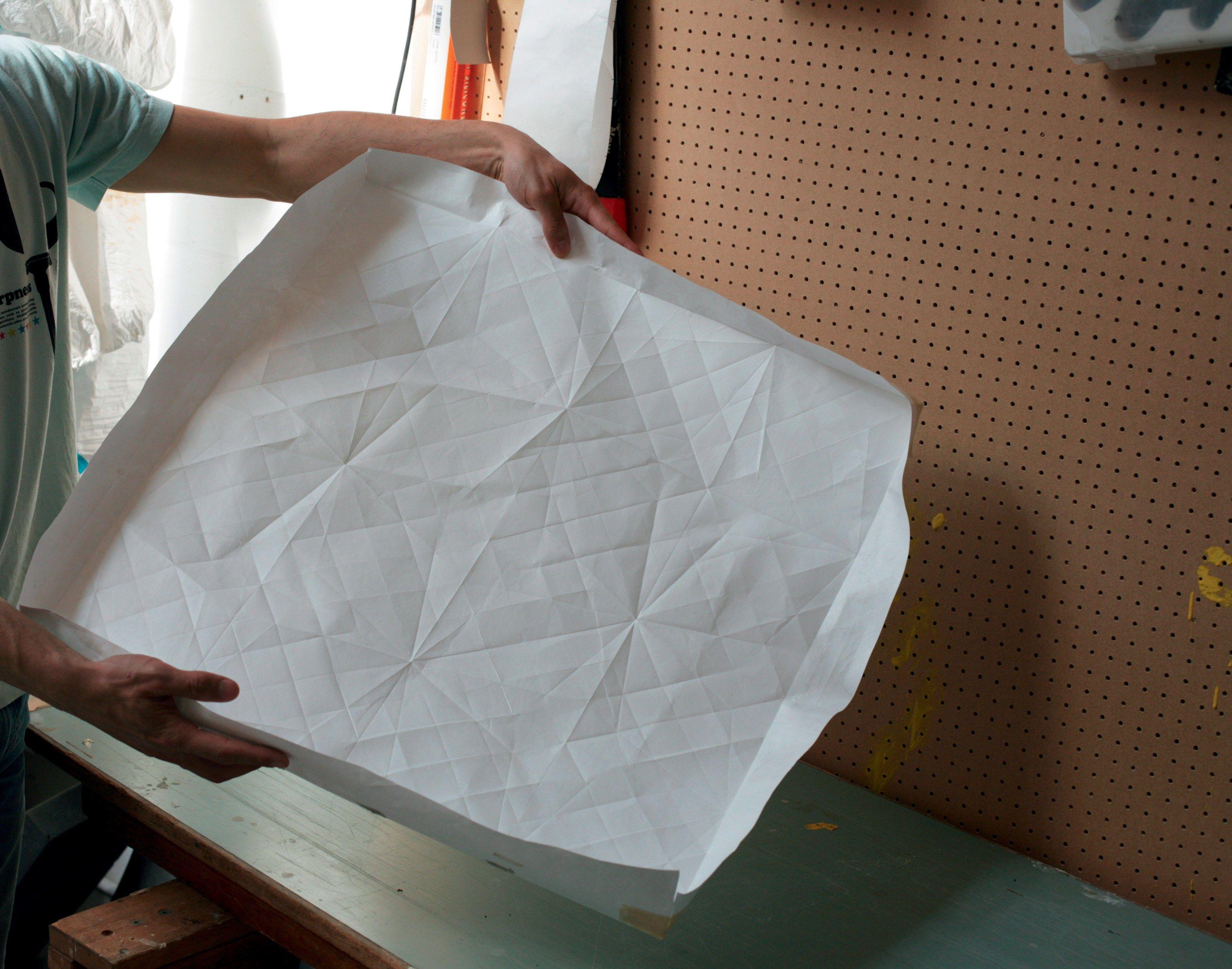 Pavimento rivestimento in gres porcellanato folded - Piastrelle mutina ...
