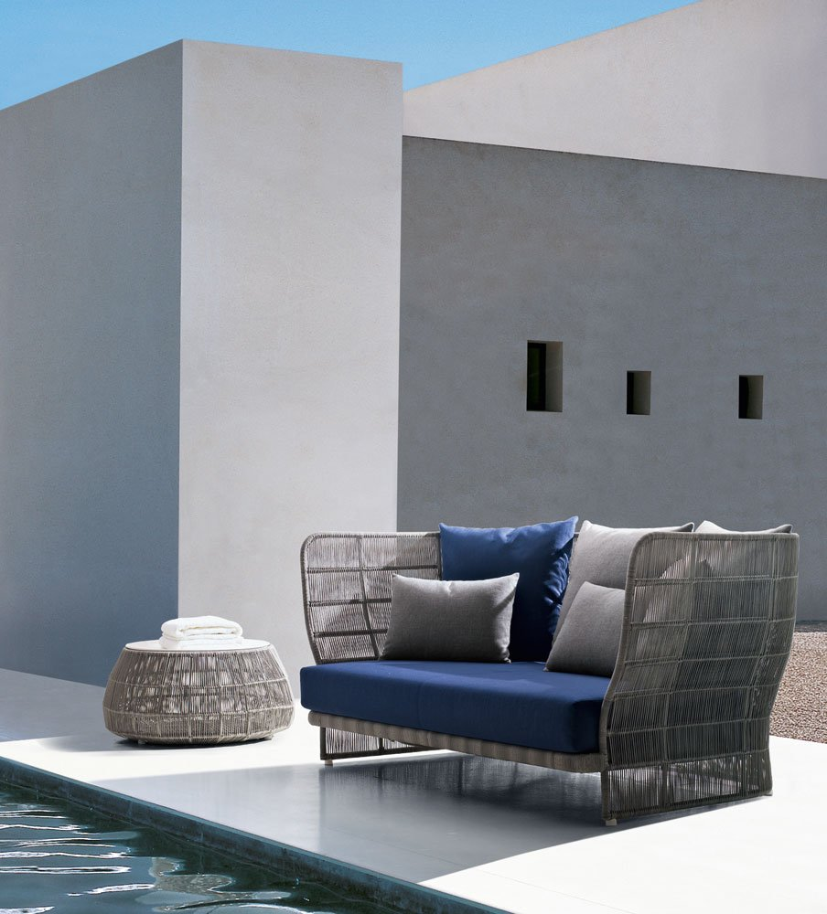 canasta 39 13 garden sofa by b b italia outdoor a brand of. Black Bedroom Furniture Sets. Home Design Ideas