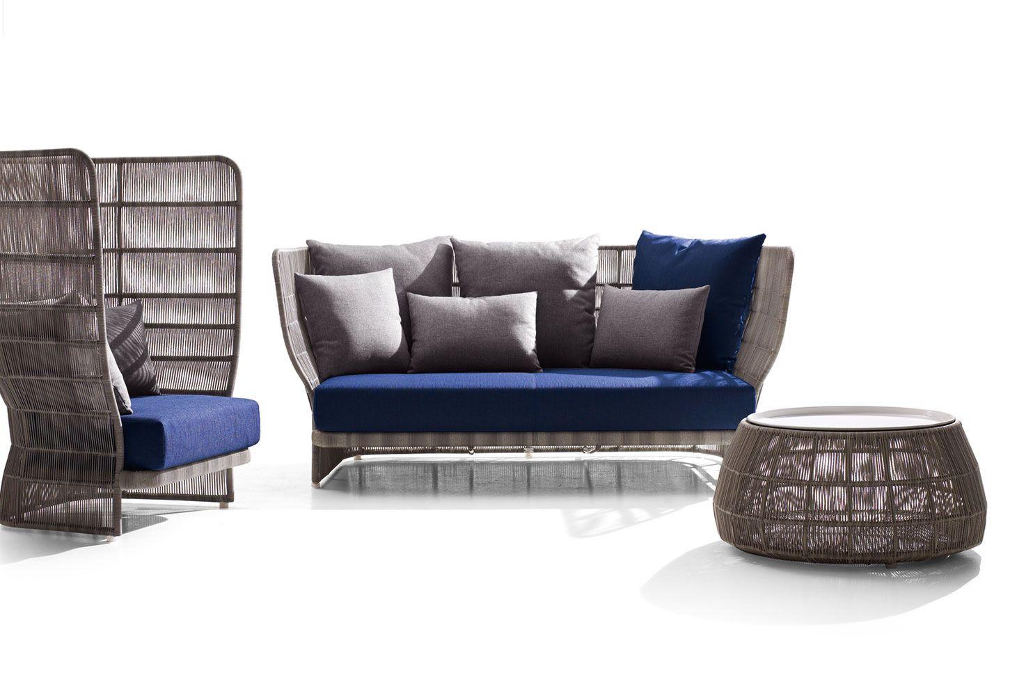 Canasta 39 13 garden sofa by b b italia outdoor a brand of for B b italia outdoor