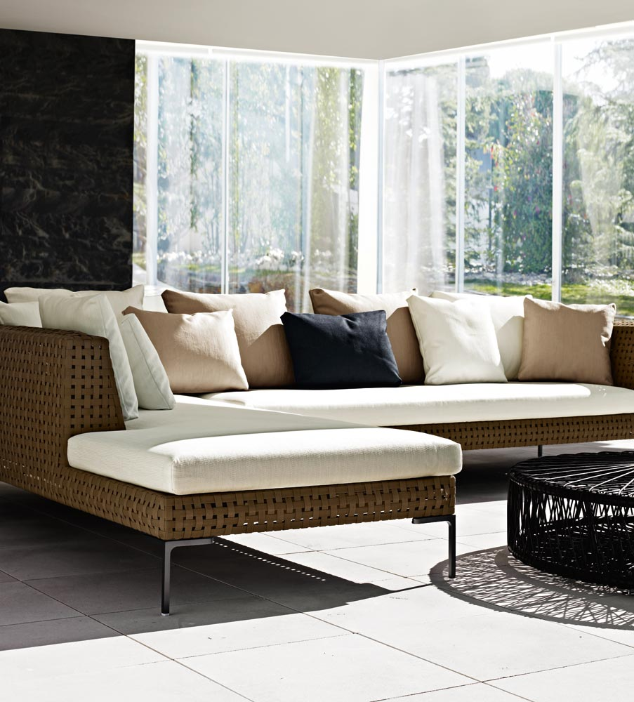 Corner Polypropylene Garden Sofa Charles Outdoor Collection By B B Italia Outdoor A Brand Of B