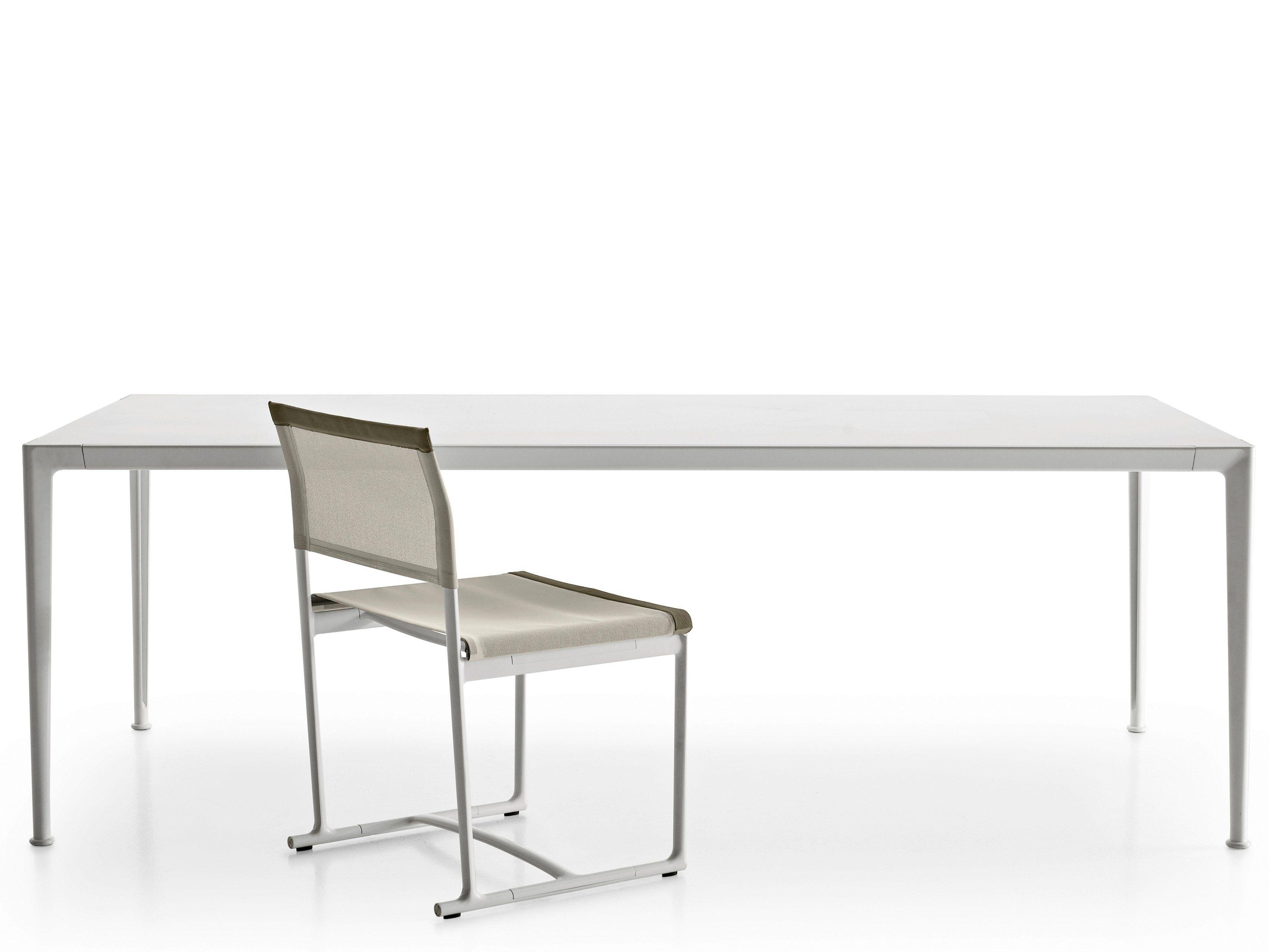 Tavolo da giardino rettangolare in alluminio collezione for Tavolo mirto b b prezzo