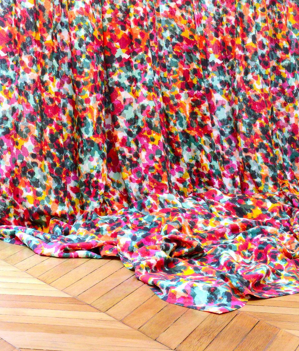Tessuto Da Tappezzeria Multicolor Rebelle By Lelievre
