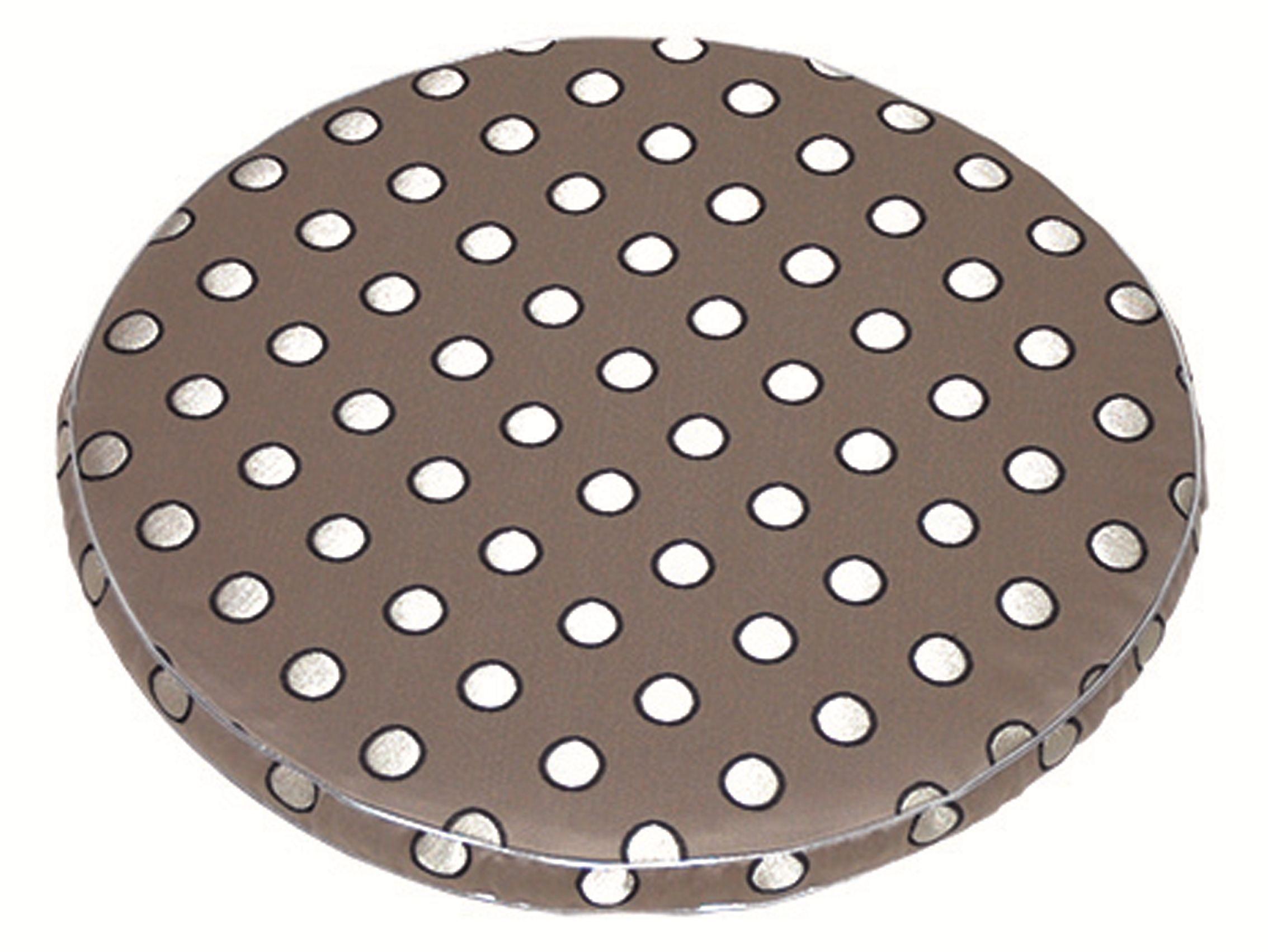 Cuscino rotondo per sedie gallette by lelievre design jean for Cuscini sedie rotondi