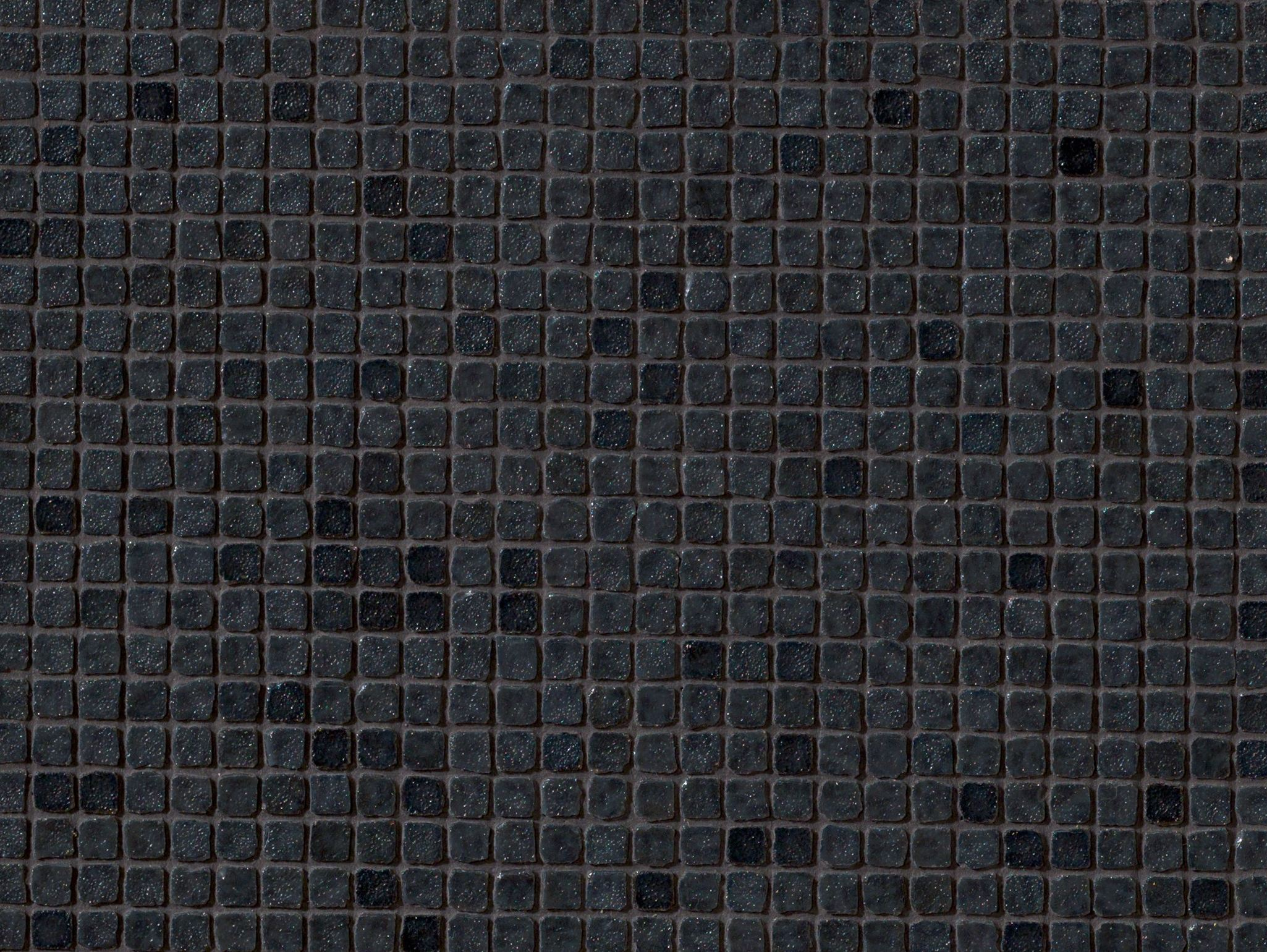 Porcelain stoneware mosaic dechirer glass nero by mutina for Bisazza carrelage