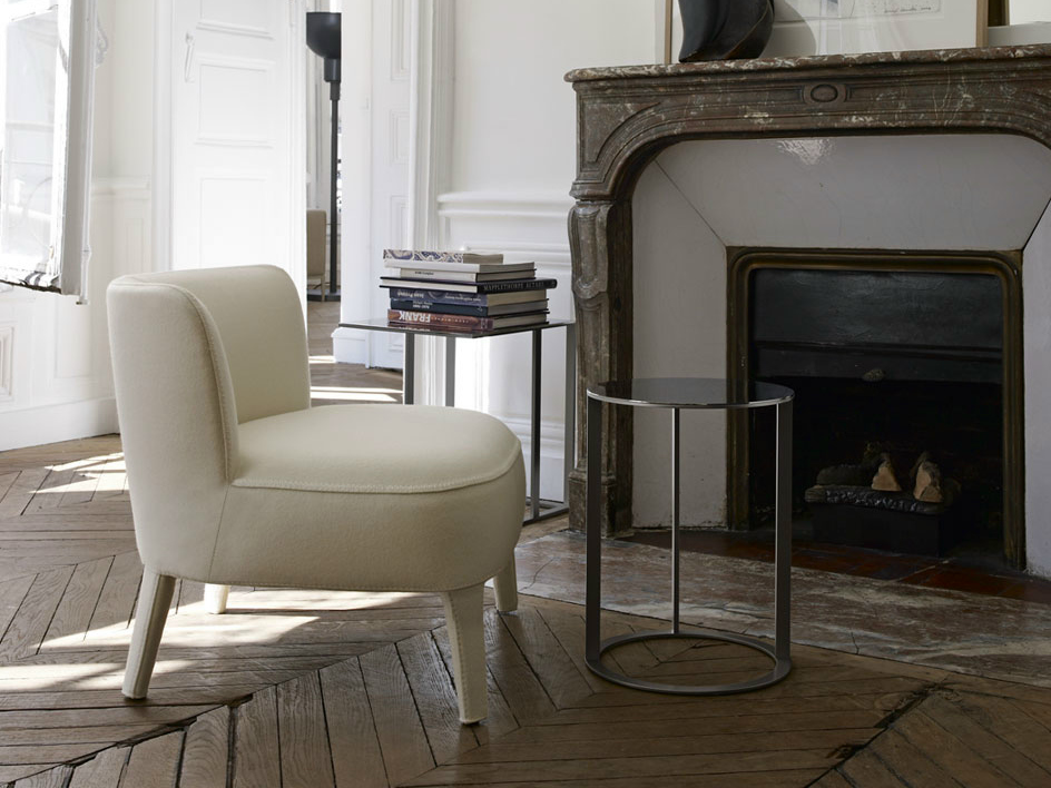 Febo armchair with armrests by maxalto a brand of b b for B b italia spa