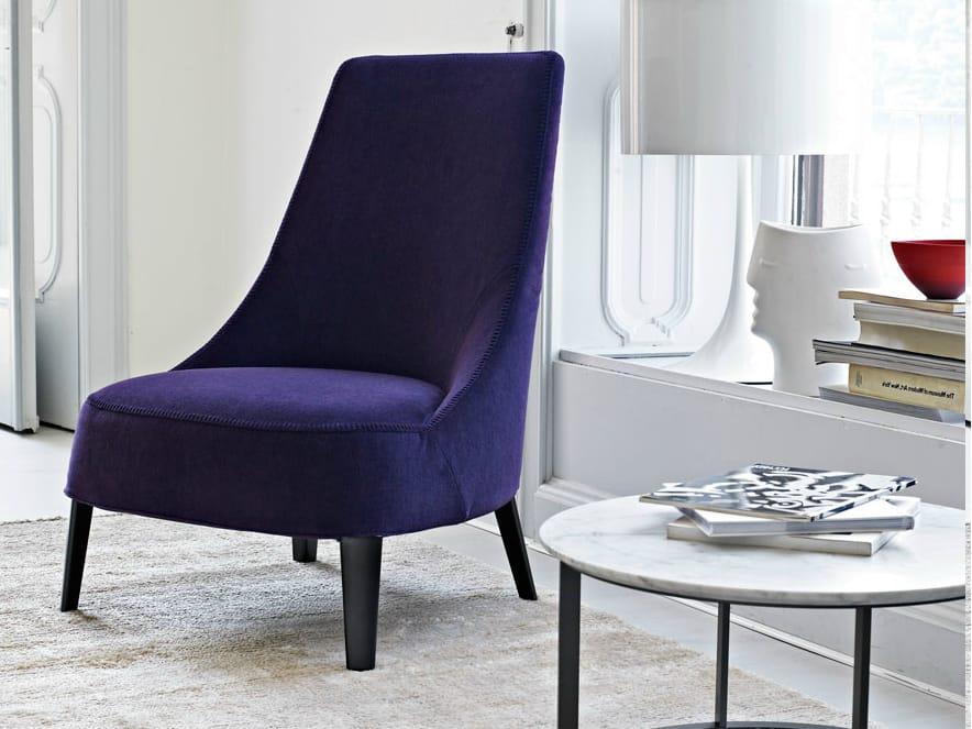 Febo fauteuil avec dossier haut by maxalto a brand of b b for B b italia spa