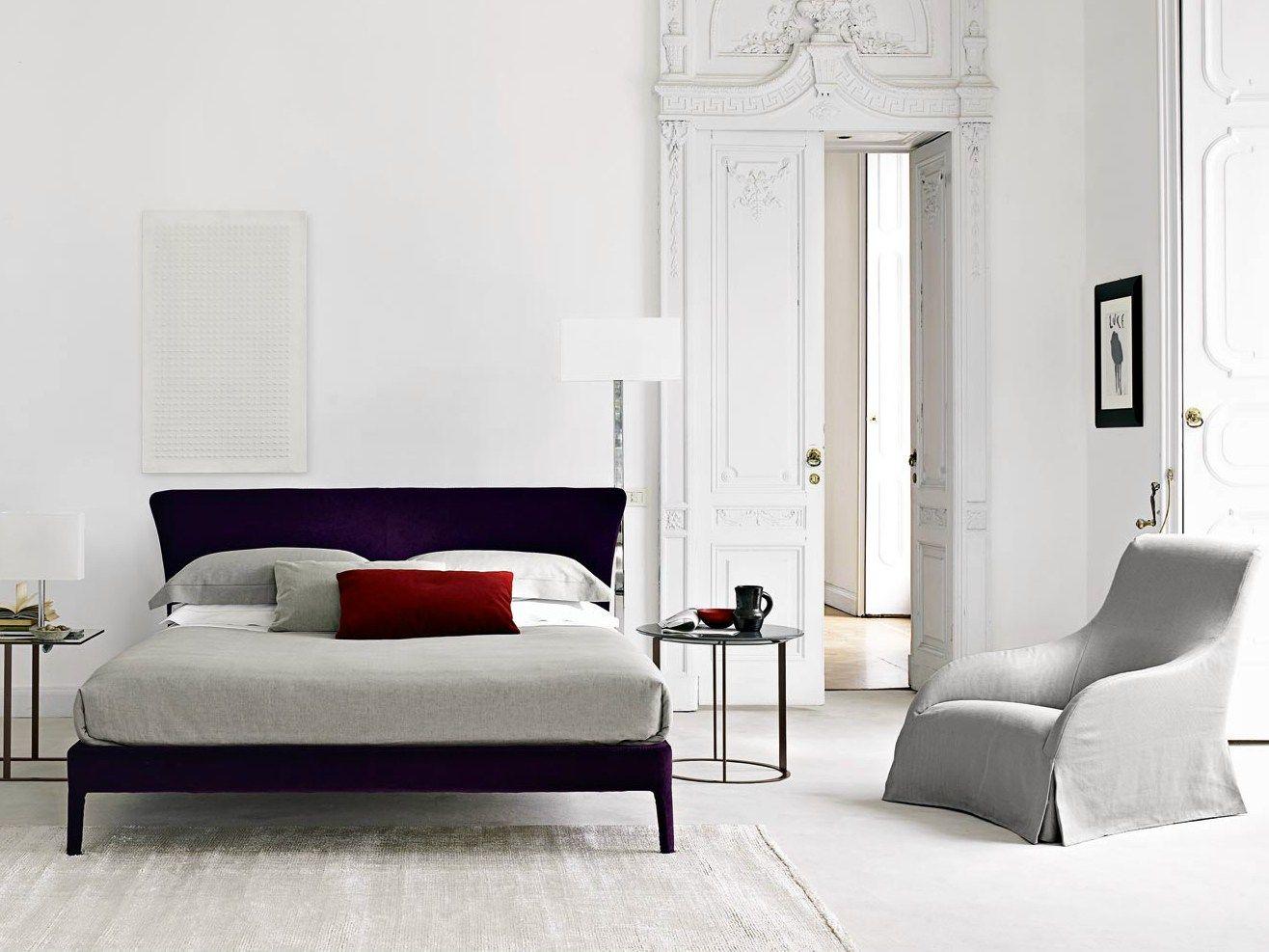 febo bed by maxalto a brand of b b italia spa design antonio citterio. Black Bedroom Furniture Sets. Home Design Ideas