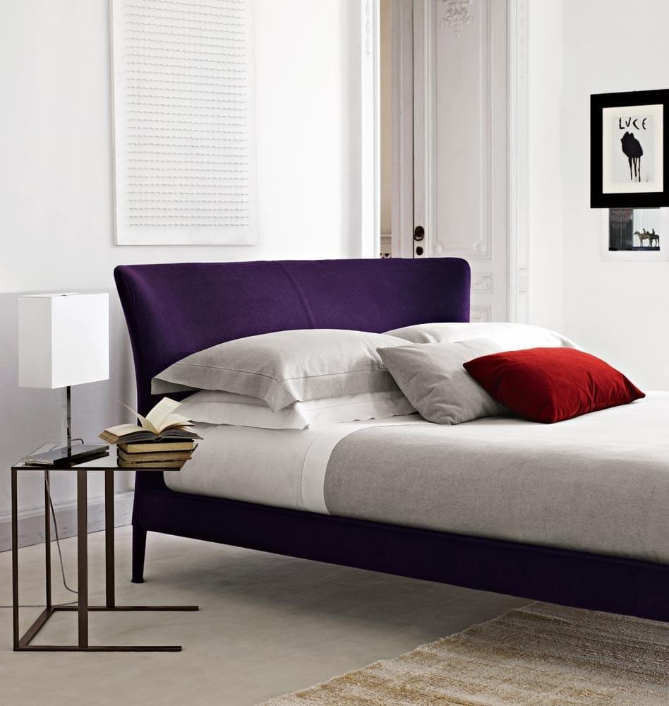 Febo bed by maxalto a brand of b b italia spa design for B b italia spa