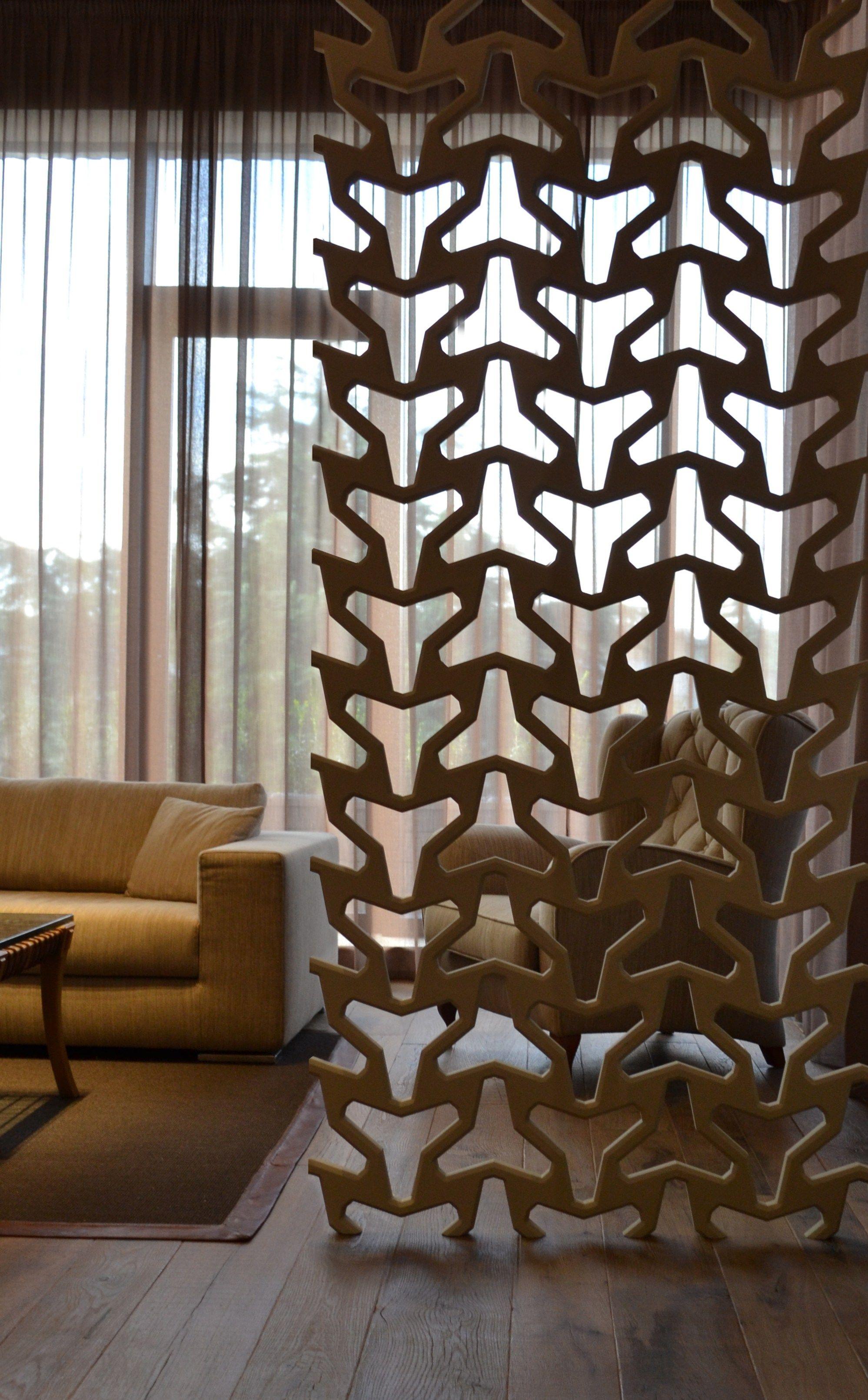 Cloison en mat?riaux c?ramiques ARABESQUE by 3D Surface ...